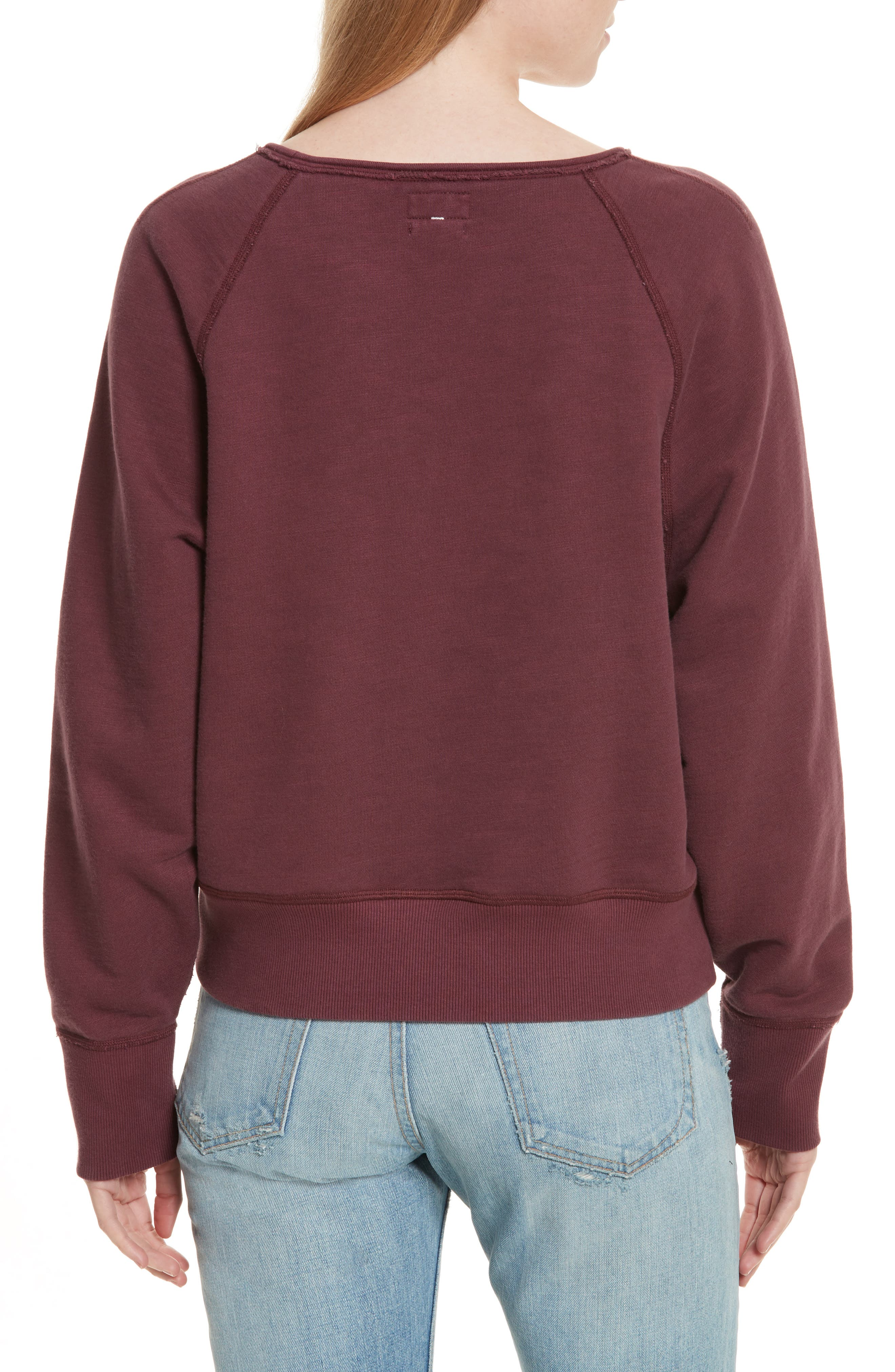 Classic Crop Pullover,                             Alternate thumbnail 2, color,                             618