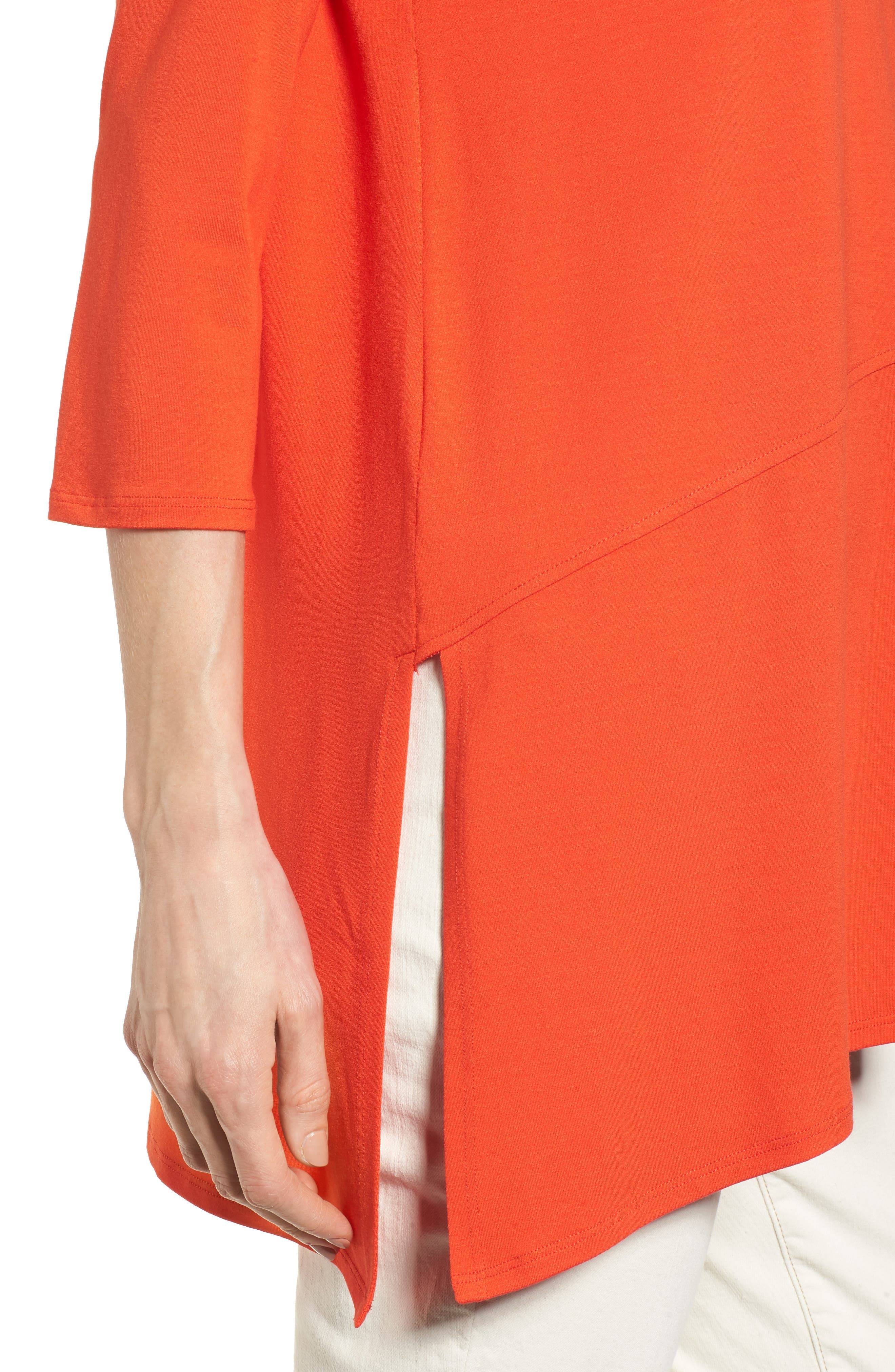 Asymmetrical Jersey Top,                             Alternate thumbnail 31, color,
