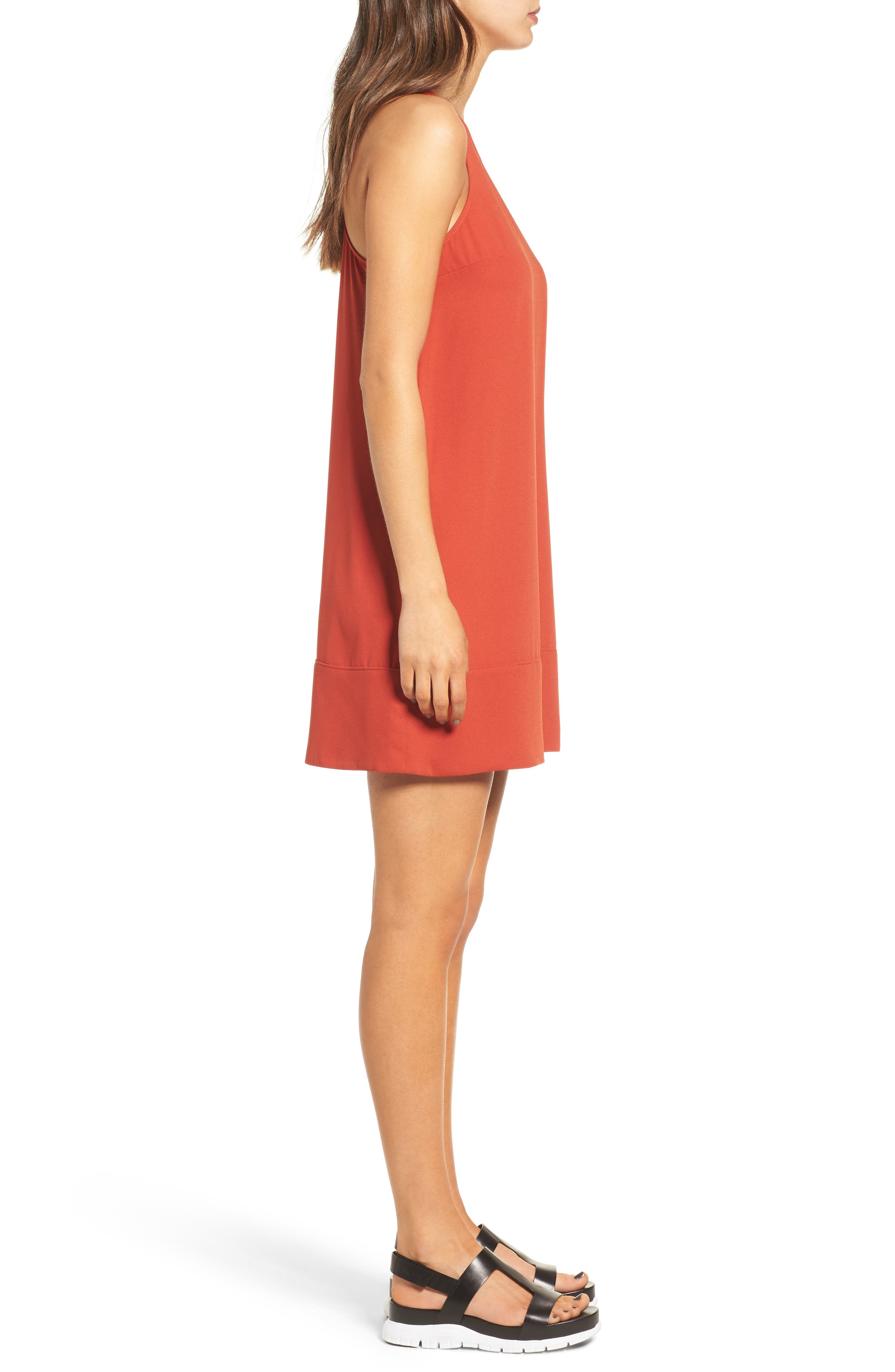 Racerback Shift Dress,                             Alternate thumbnail 114, color,