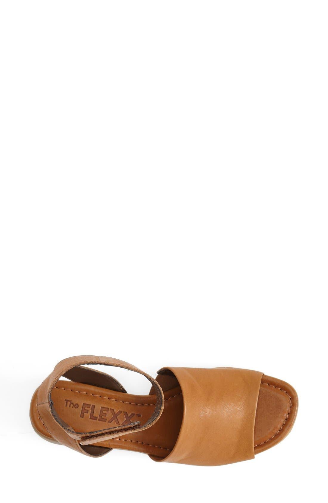 'Beglad' Leather Ankle Strap Sandal,                             Alternate thumbnail 43, color,