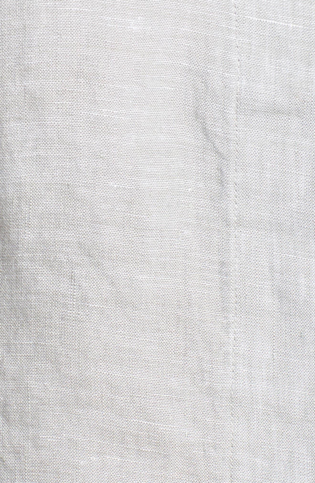 Linen Chambray Shirt,                             Alternate thumbnail 30, color,