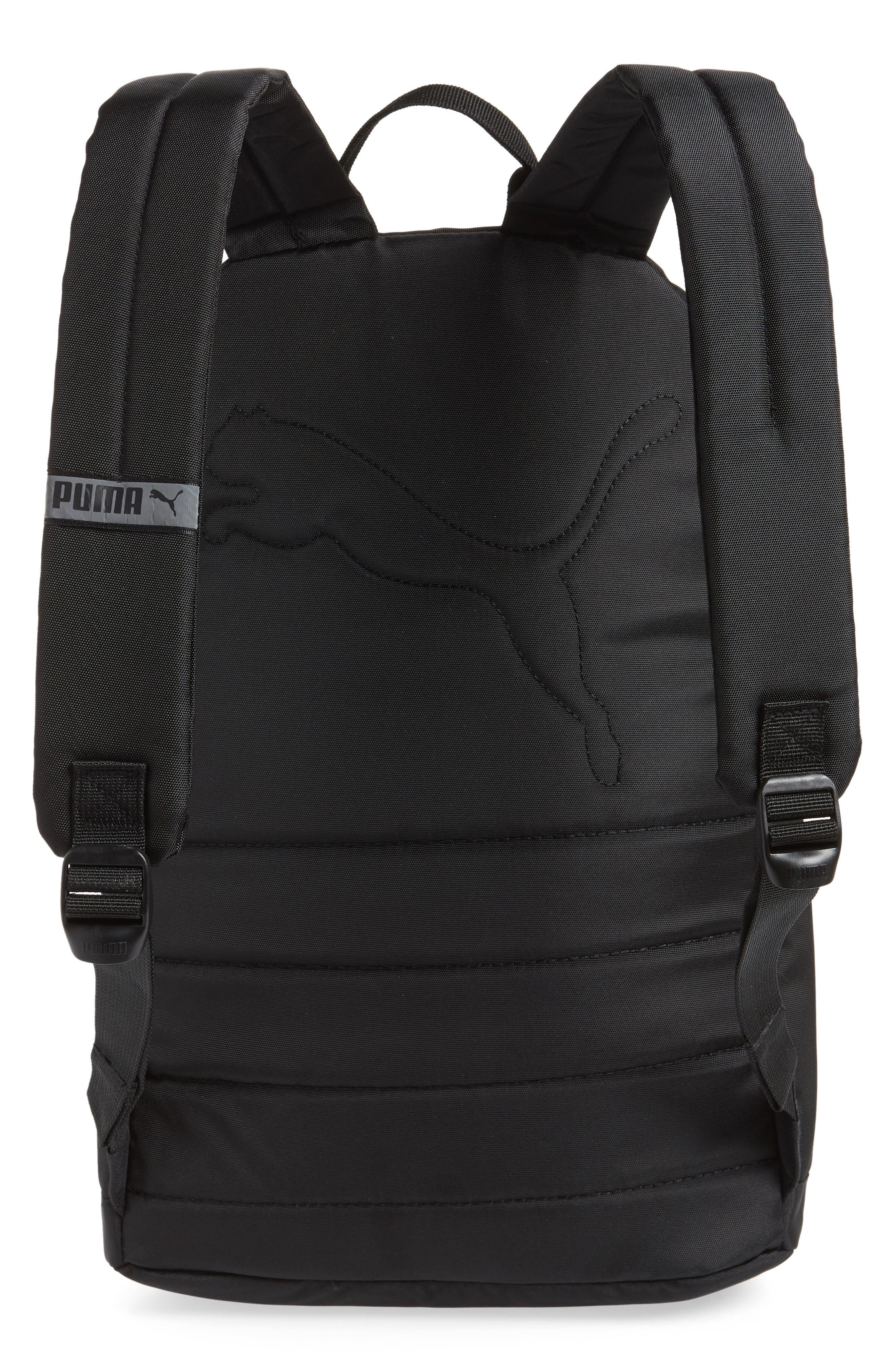 Essential Backpack,                             Alternate thumbnail 3, color,                             BLACK