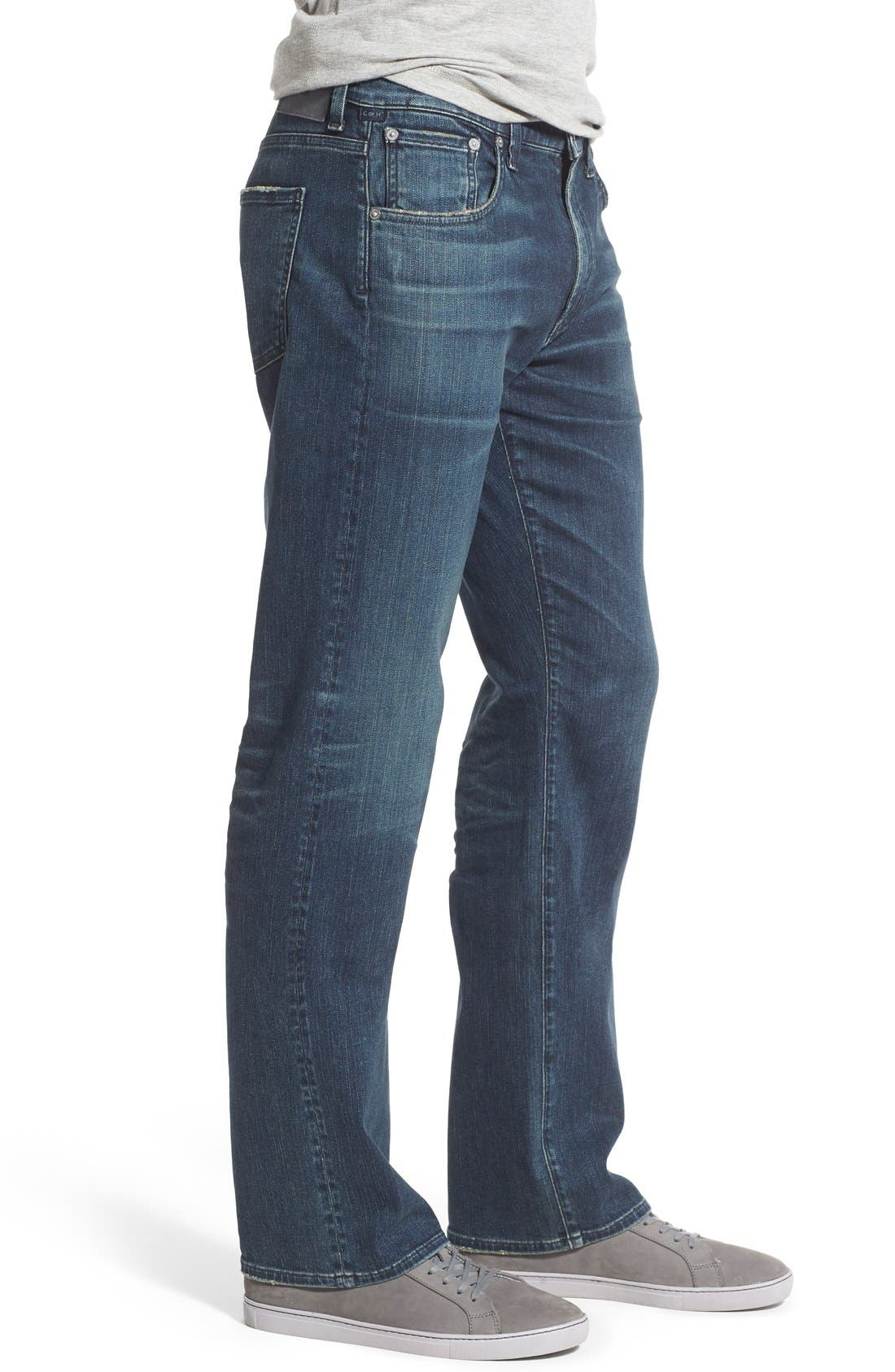 PERFORM - Sid Straight Leg Jeans,                             Alternate thumbnail 9, color,                             NORLAND