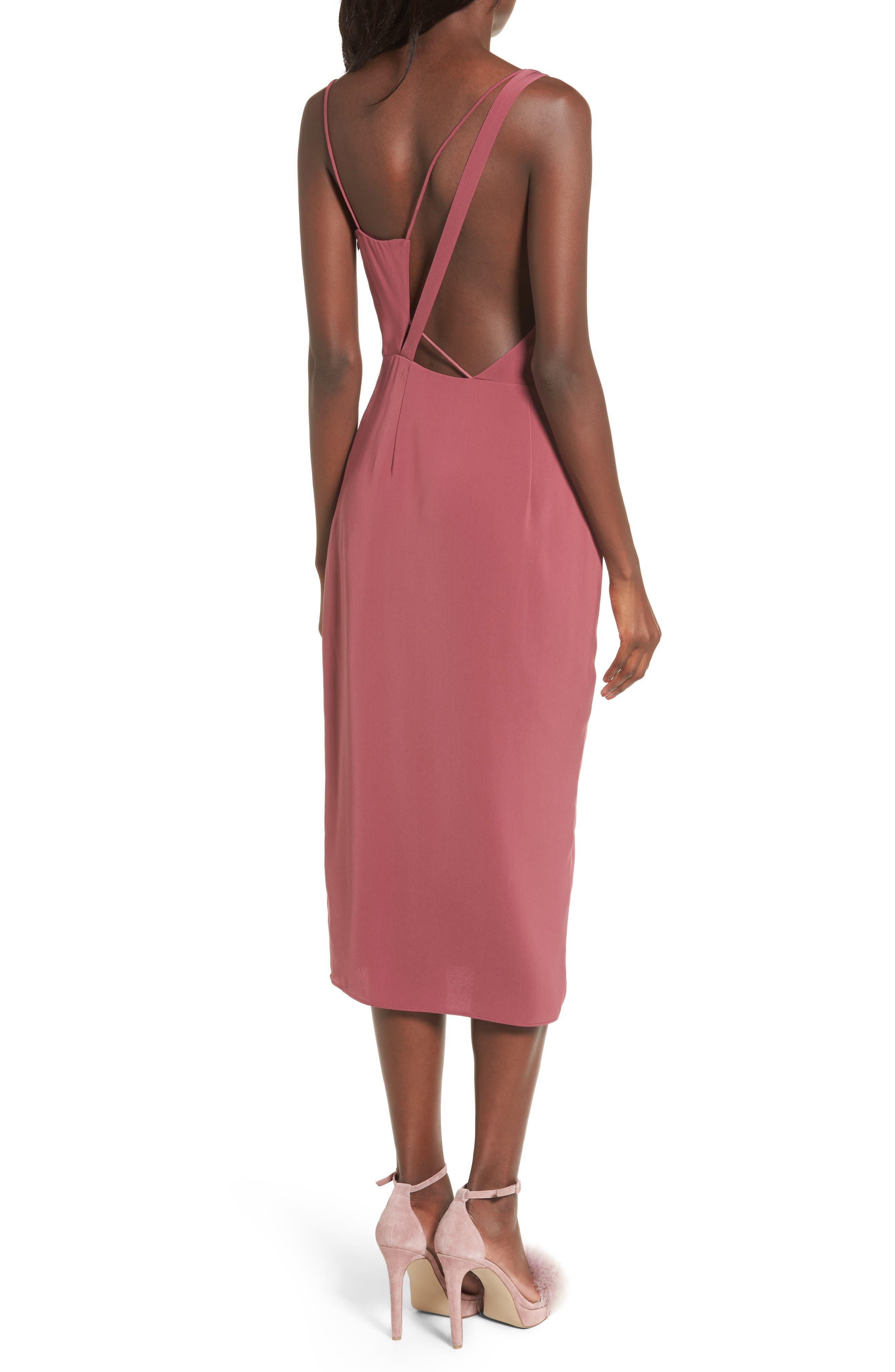 KEEPSAKE THE LABEL,                             Be Mine Midi Dress,                             Alternate thumbnail 2, color,                             930