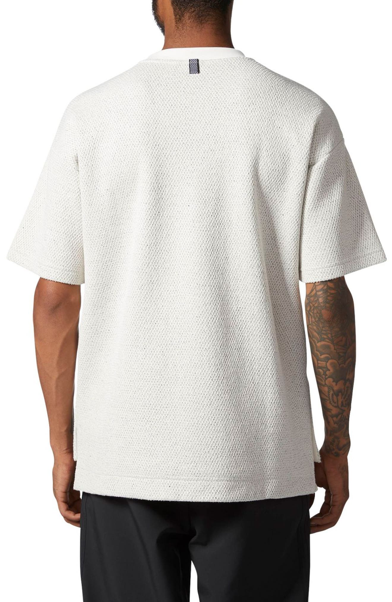 Originals CR8 Mesh Bond T-Shirt,                             Alternate thumbnail 2, color,