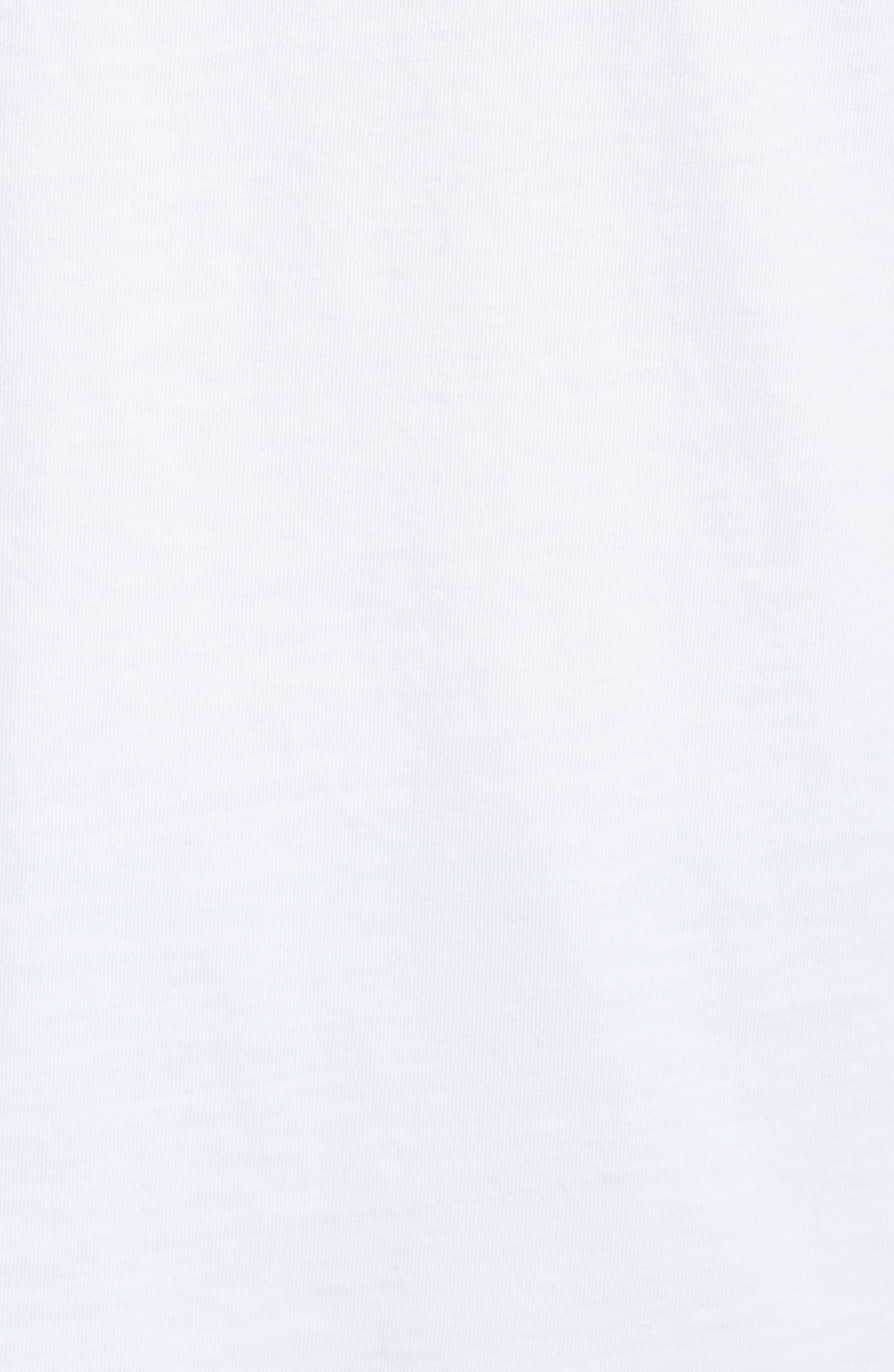 Santa Whale Pocket Tee,                             Alternate thumbnail 5, color,                             100