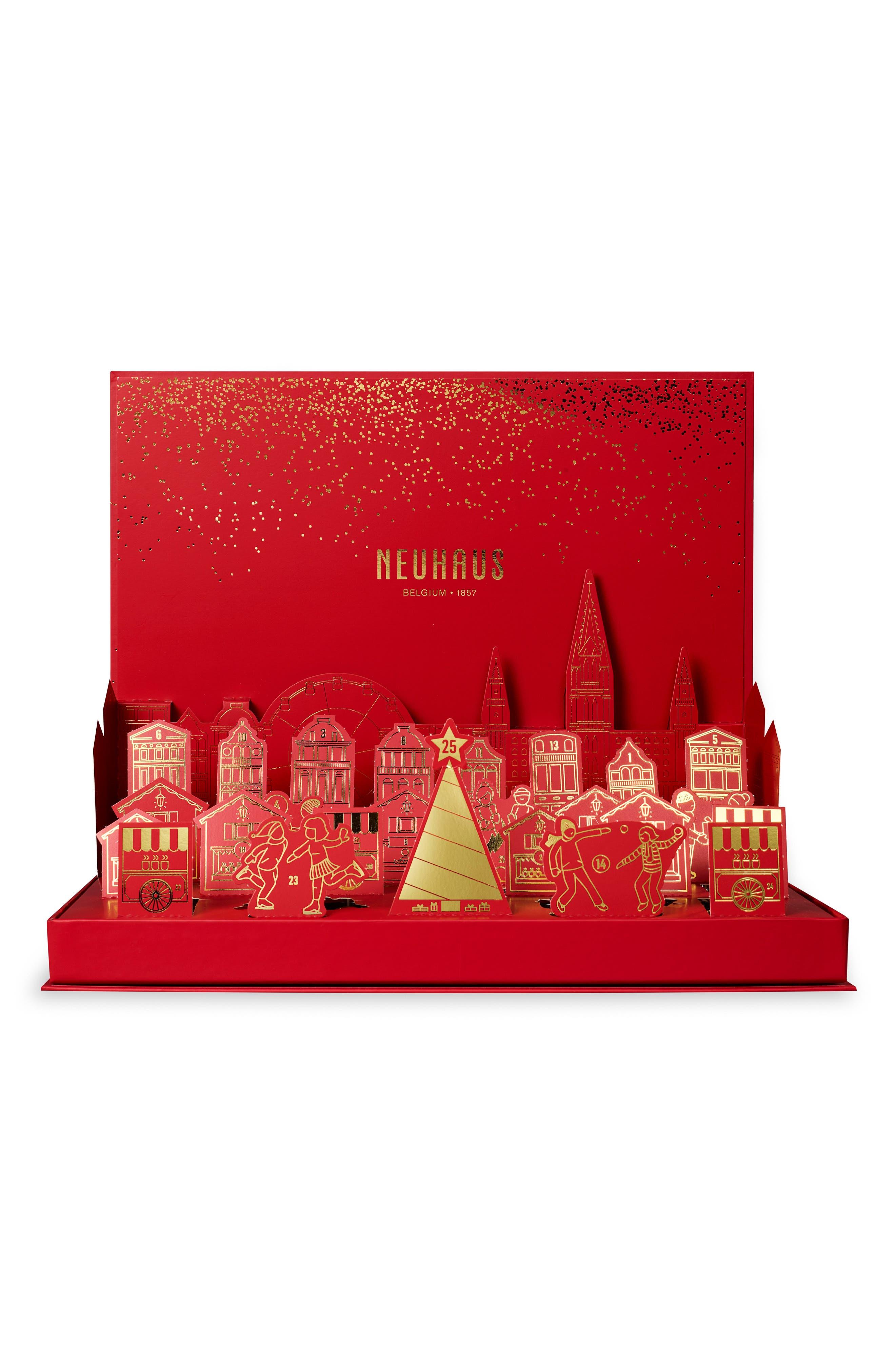 Winter Wonderland Pop-Up Chocolate Advent Calendar,                             Alternate thumbnail 4, color,                             600