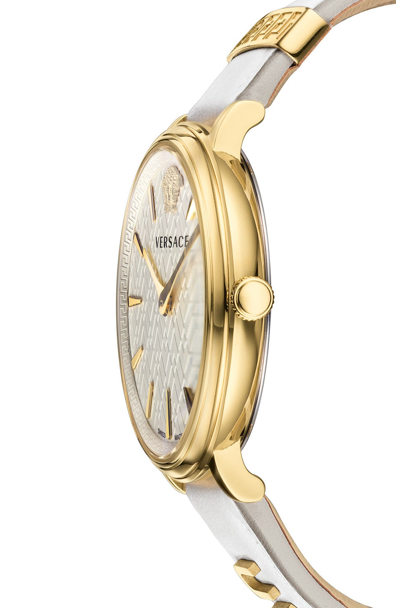 Manifesto Leather Strap Watch, 38mm,                             Alternate thumbnail 12, color,