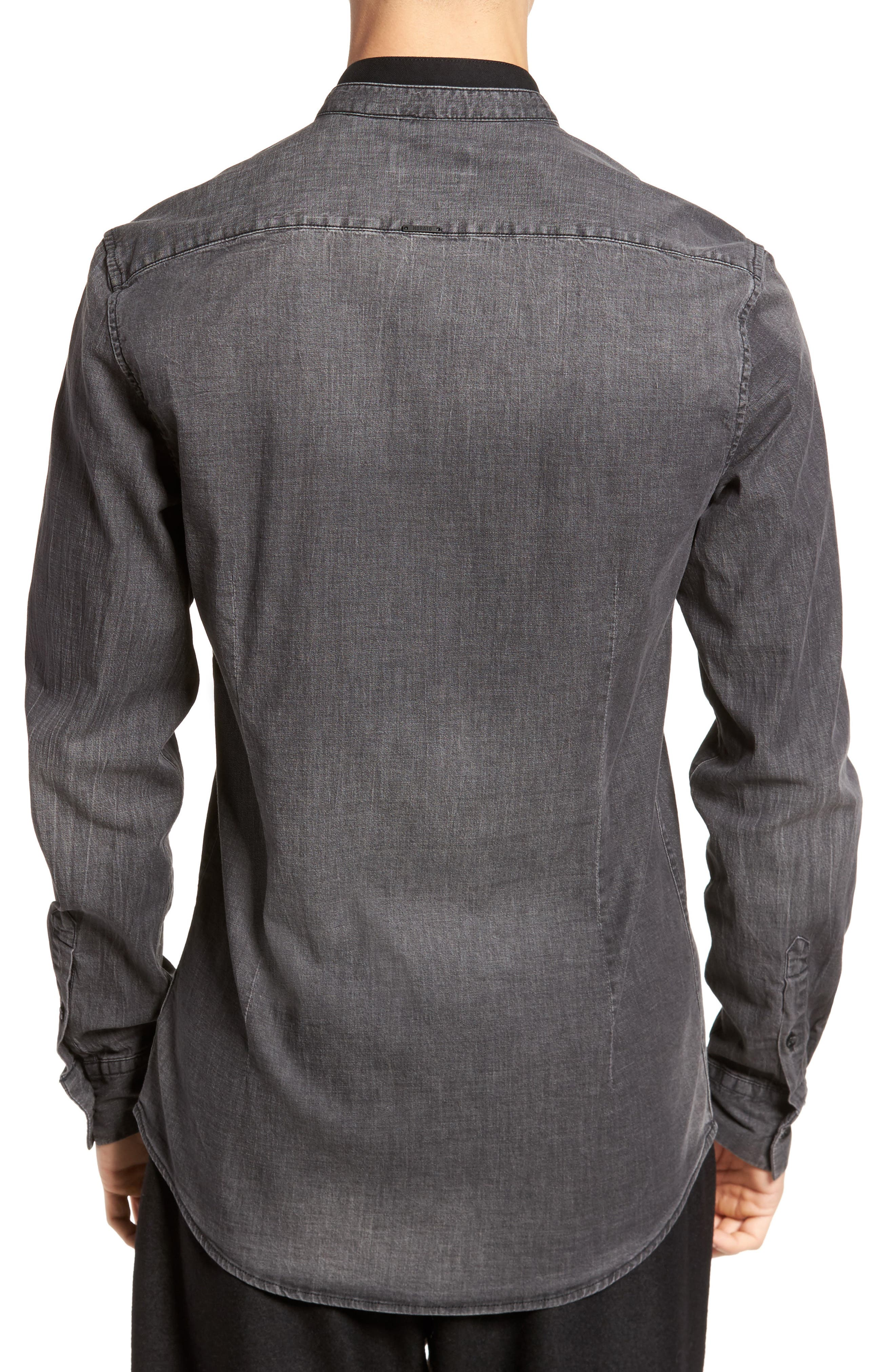 Denim Shirt,                             Alternate thumbnail 2, color,