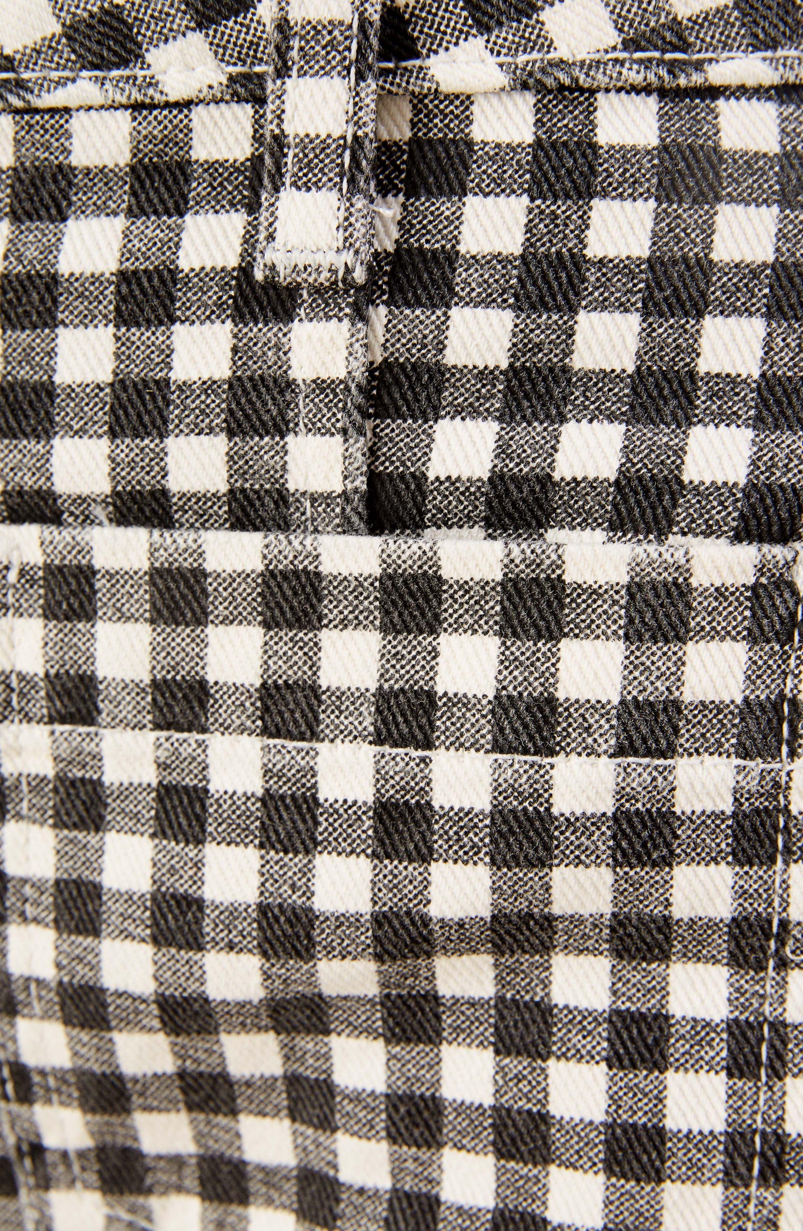 REFORMATION,                             Bianca Denim Miniskirt,                             Alternate thumbnail 4, color,                             001