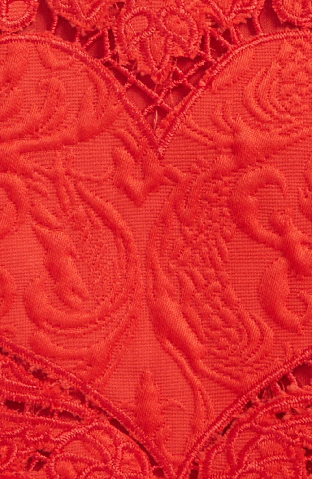 Heart Jacquard Dress,                             Alternate thumbnail 3, color,
