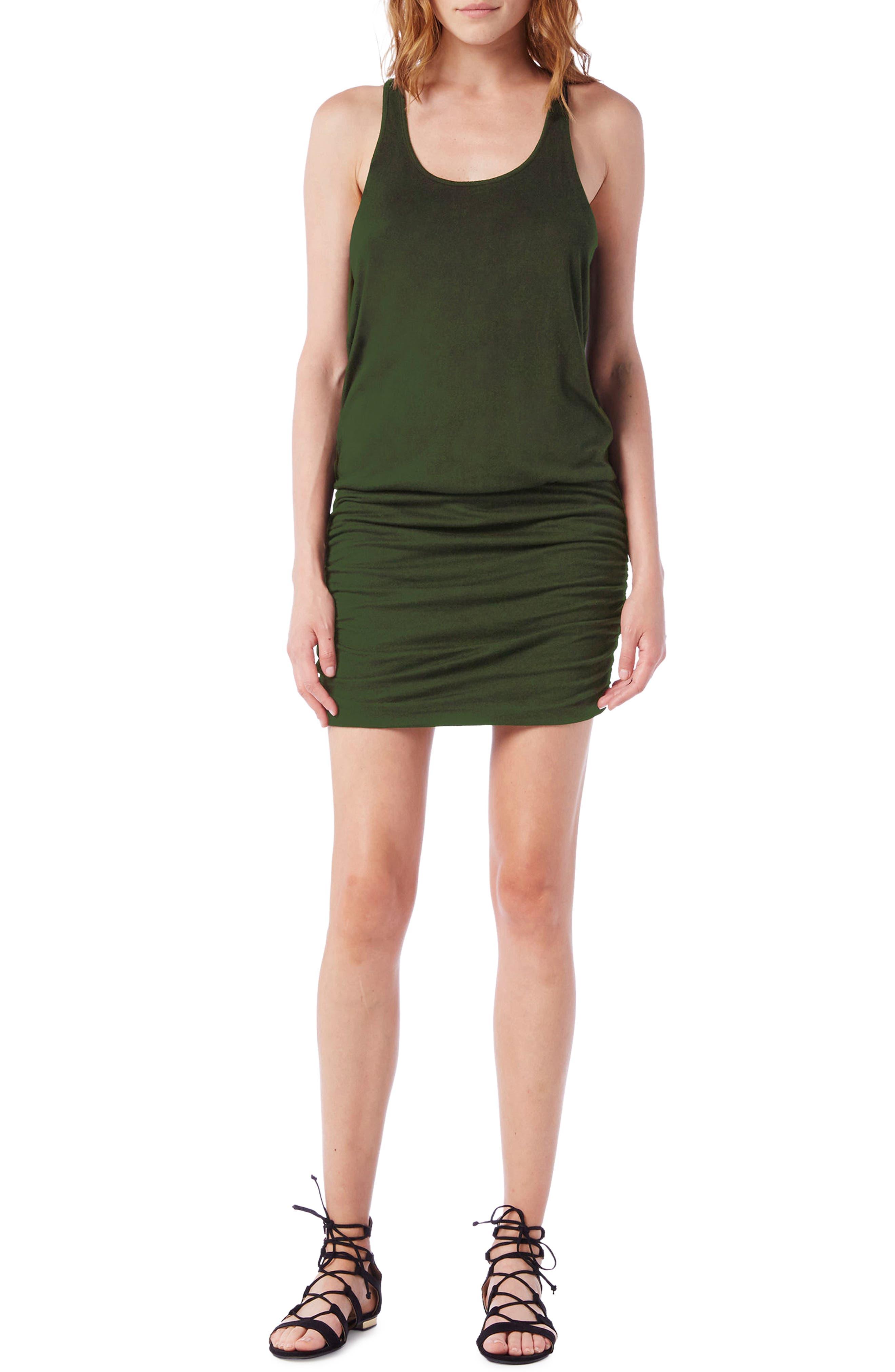 Racerback Tank Dress,                             Main thumbnail 2, color,