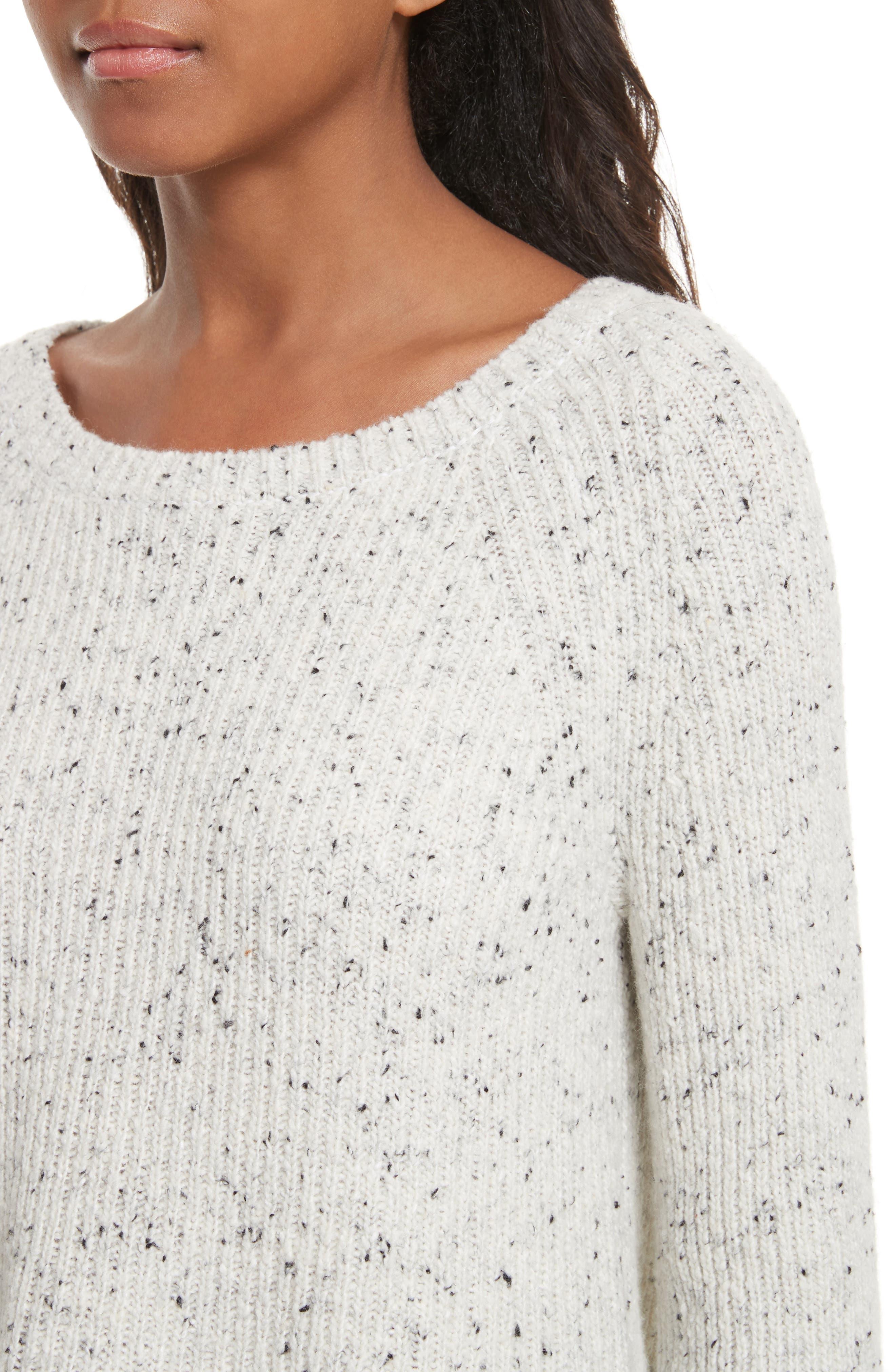 Paden Wool Blend Sweater,                             Alternate thumbnail 4, color,                             114