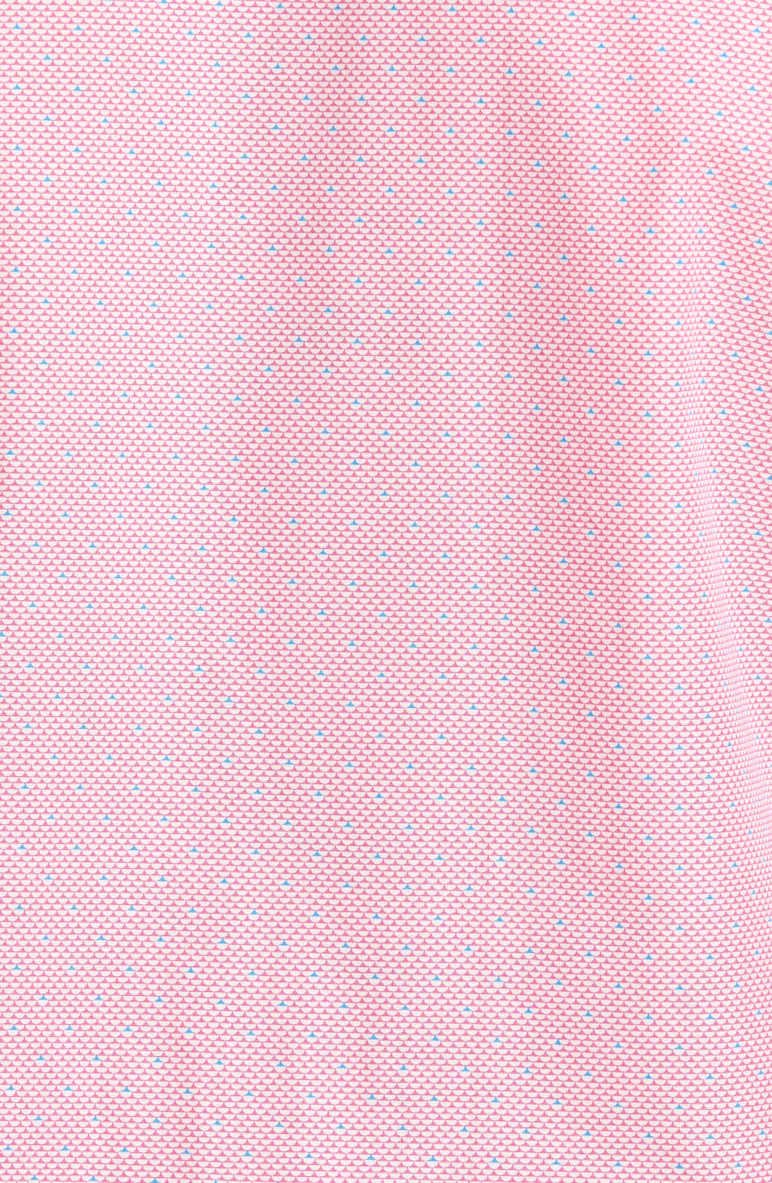 Dardano Trim Fit Print Sport Shirt,                             Alternate thumbnail 5, color,                             650