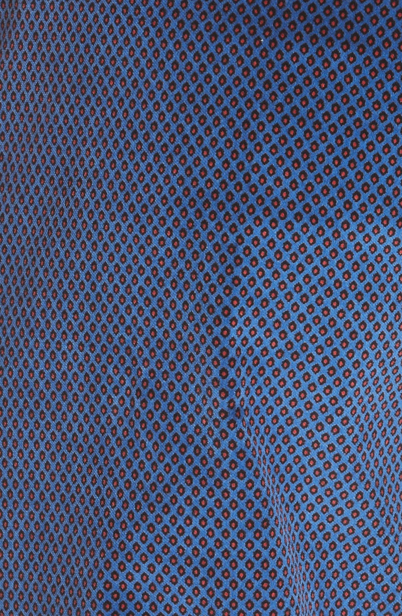 Margaret Foulard Pants,                             Alternate thumbnail 6, color,                             BLUE MULTI
