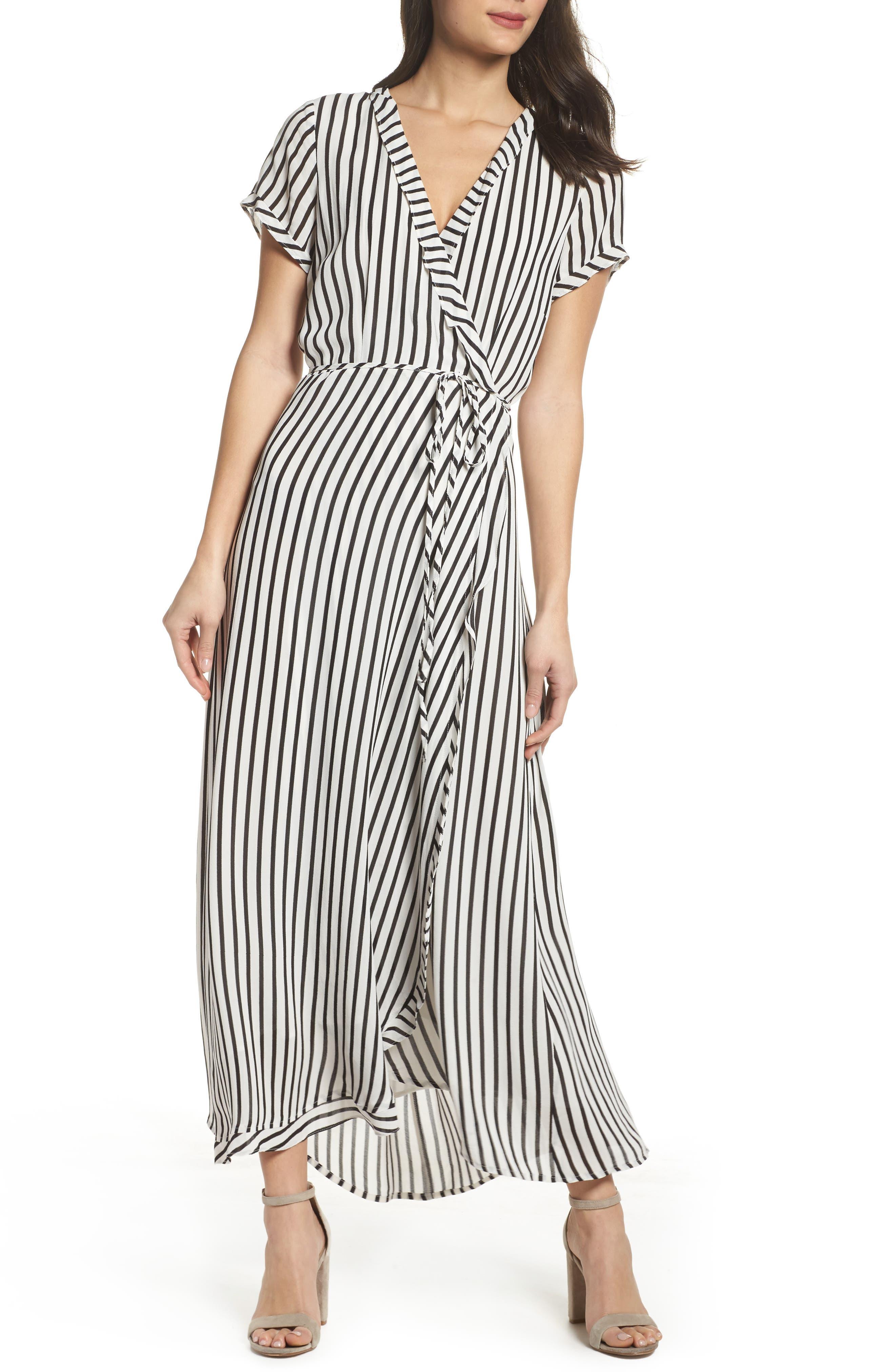 Adie Maxi Wrap Dress,                             Alternate thumbnail 5, color,                             013