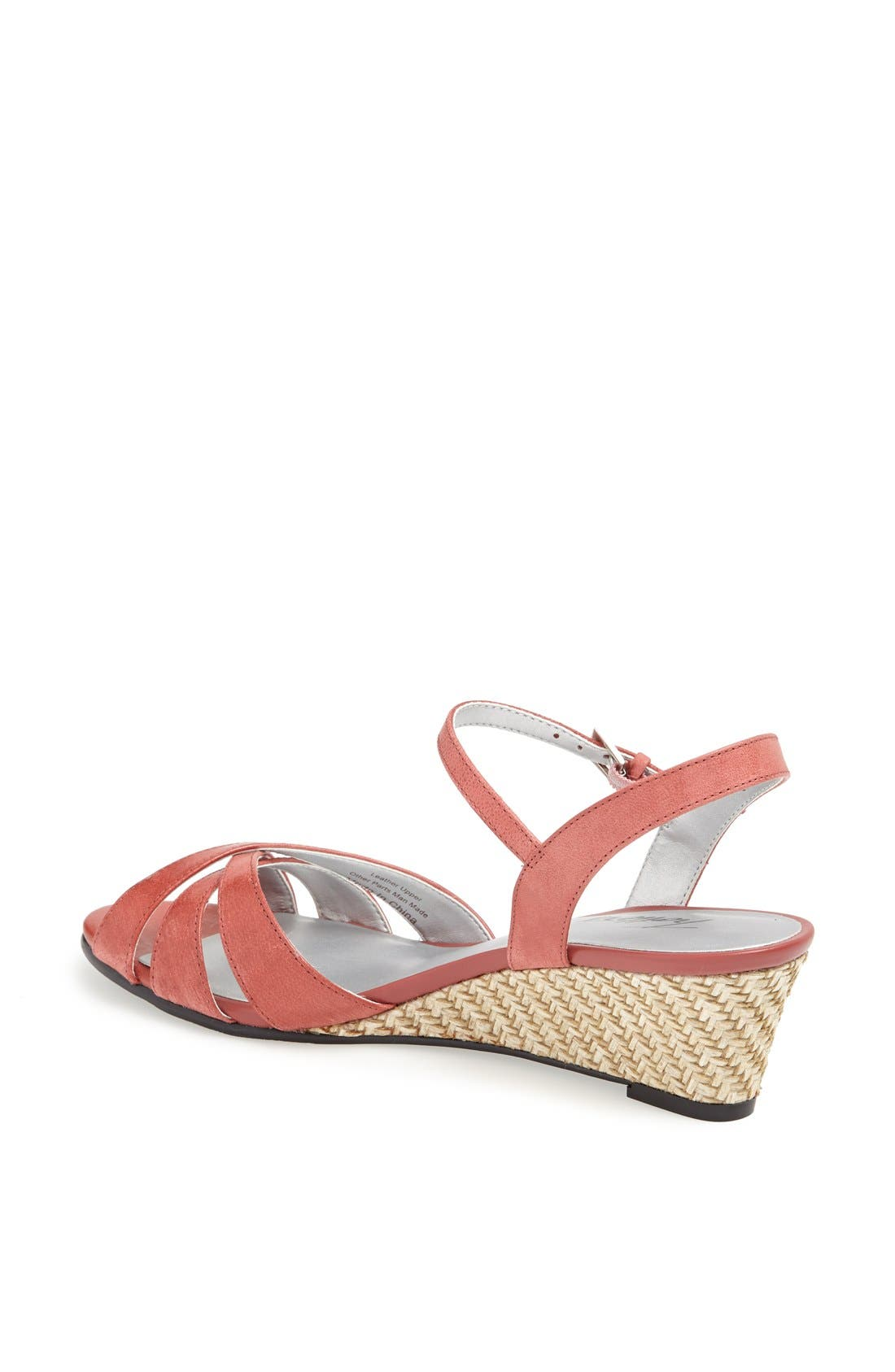 'Mickey' Wedge Sandal,                             Alternate thumbnail 40, color,