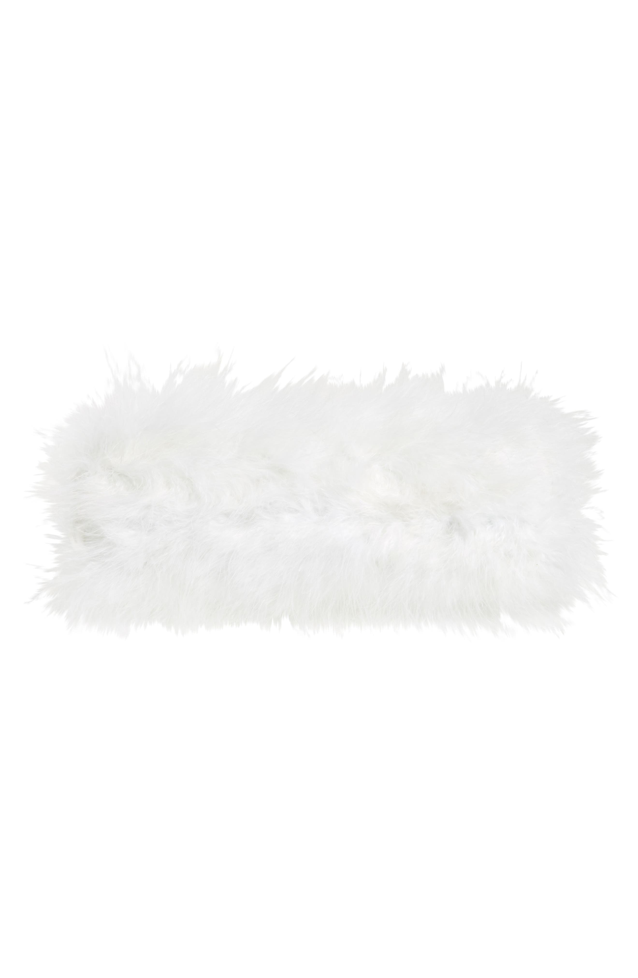 Loop Bow Feather Evening Bag,                             Alternate thumbnail 6, color,                             115