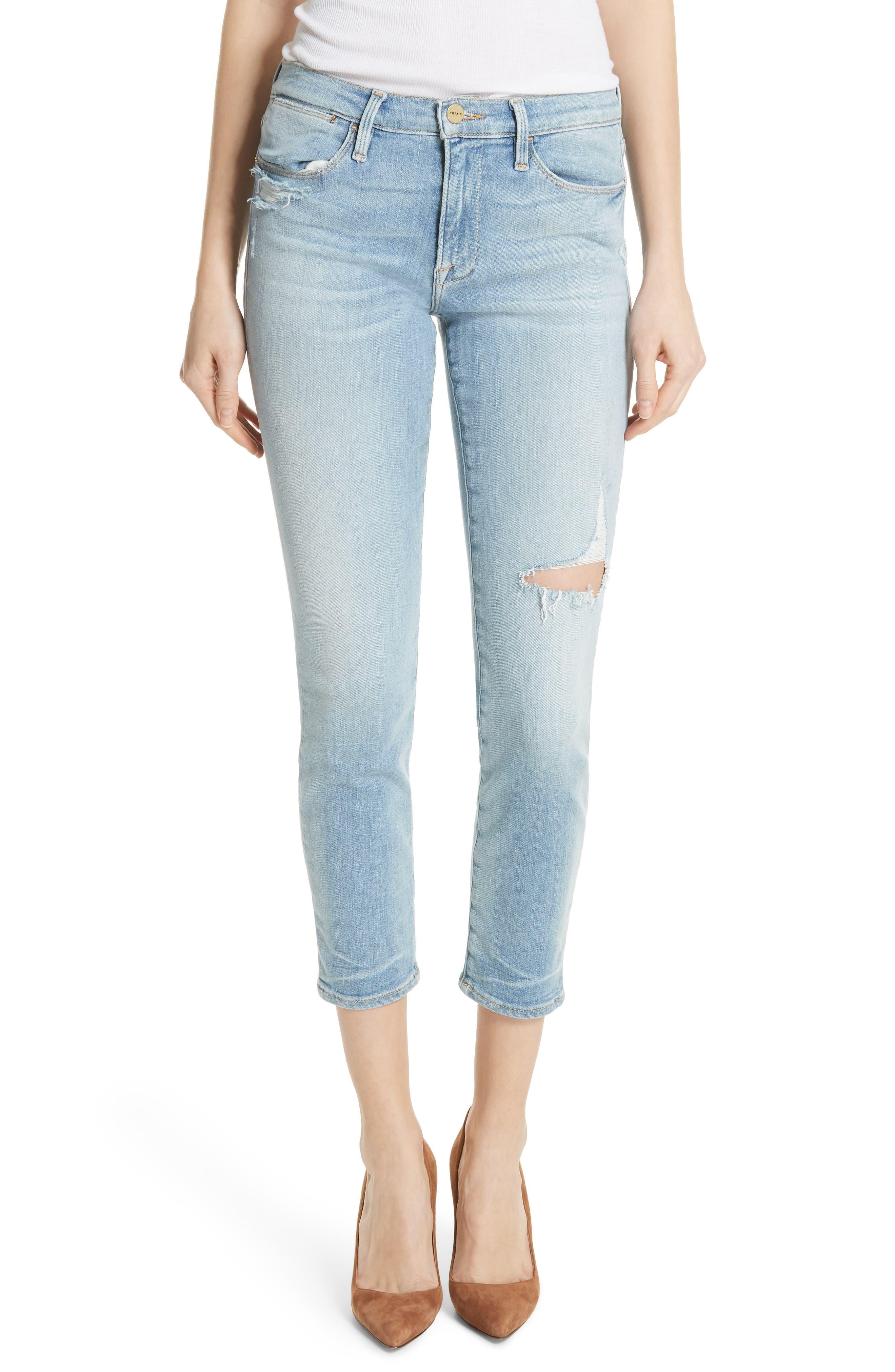 Le High Skinny Jeans,                             Main thumbnail 1, color,                             450