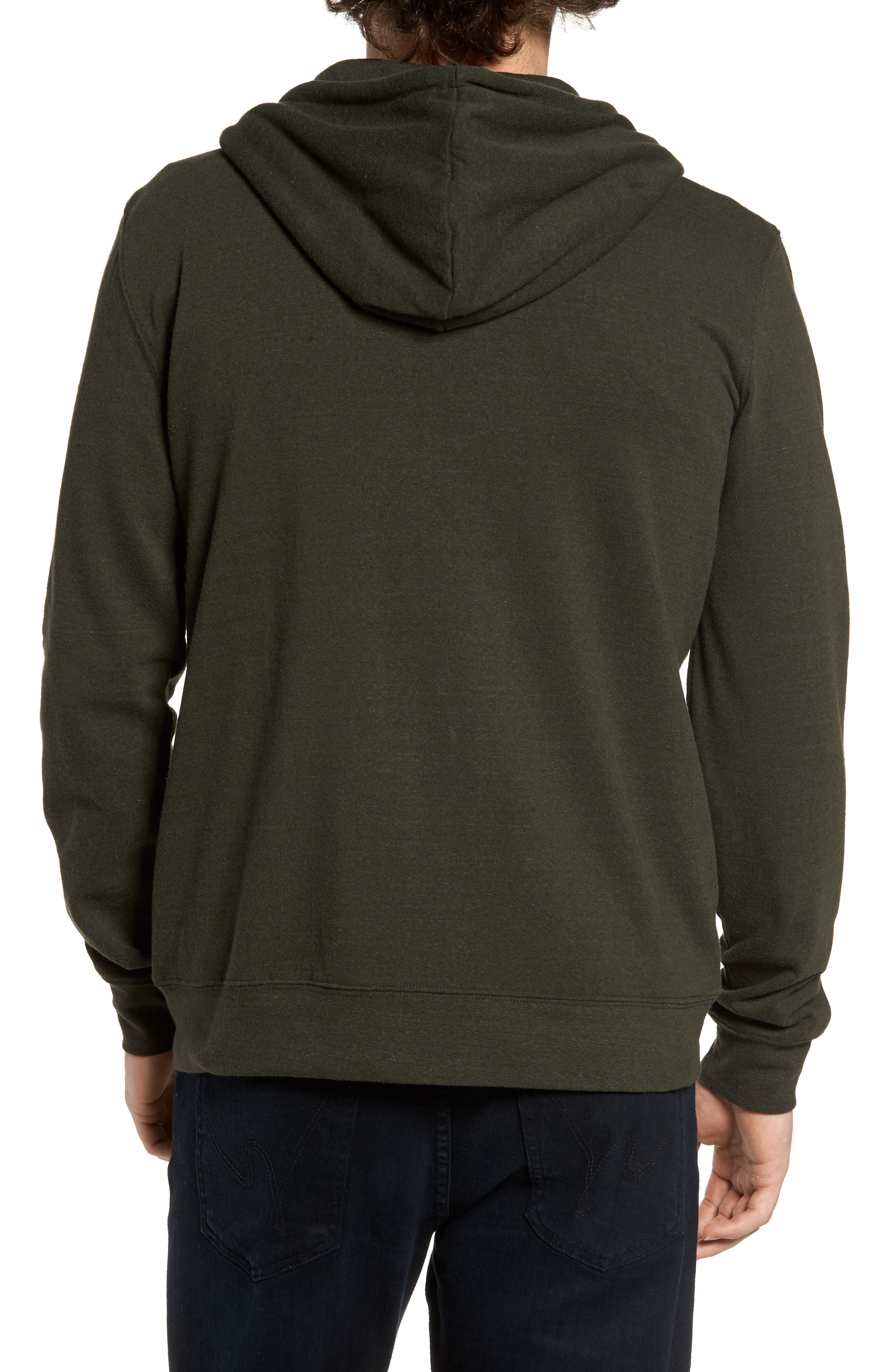Threads for Thought Trim Fit Heathered Hoodie,                             Alternate thumbnail 37, color,