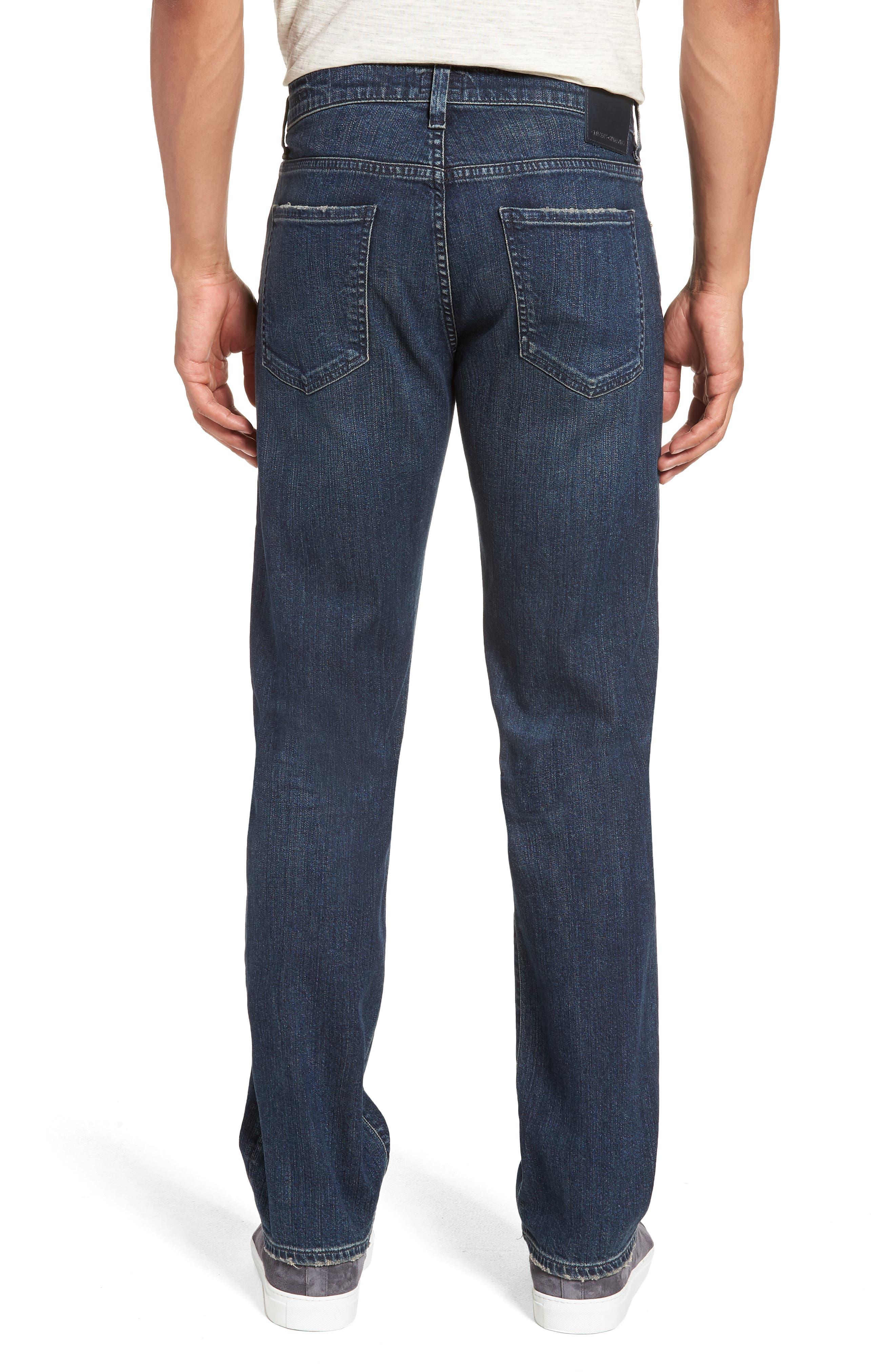 Sid Straight Leg Jeans,                             Alternate thumbnail 2, color,                             BLAZE