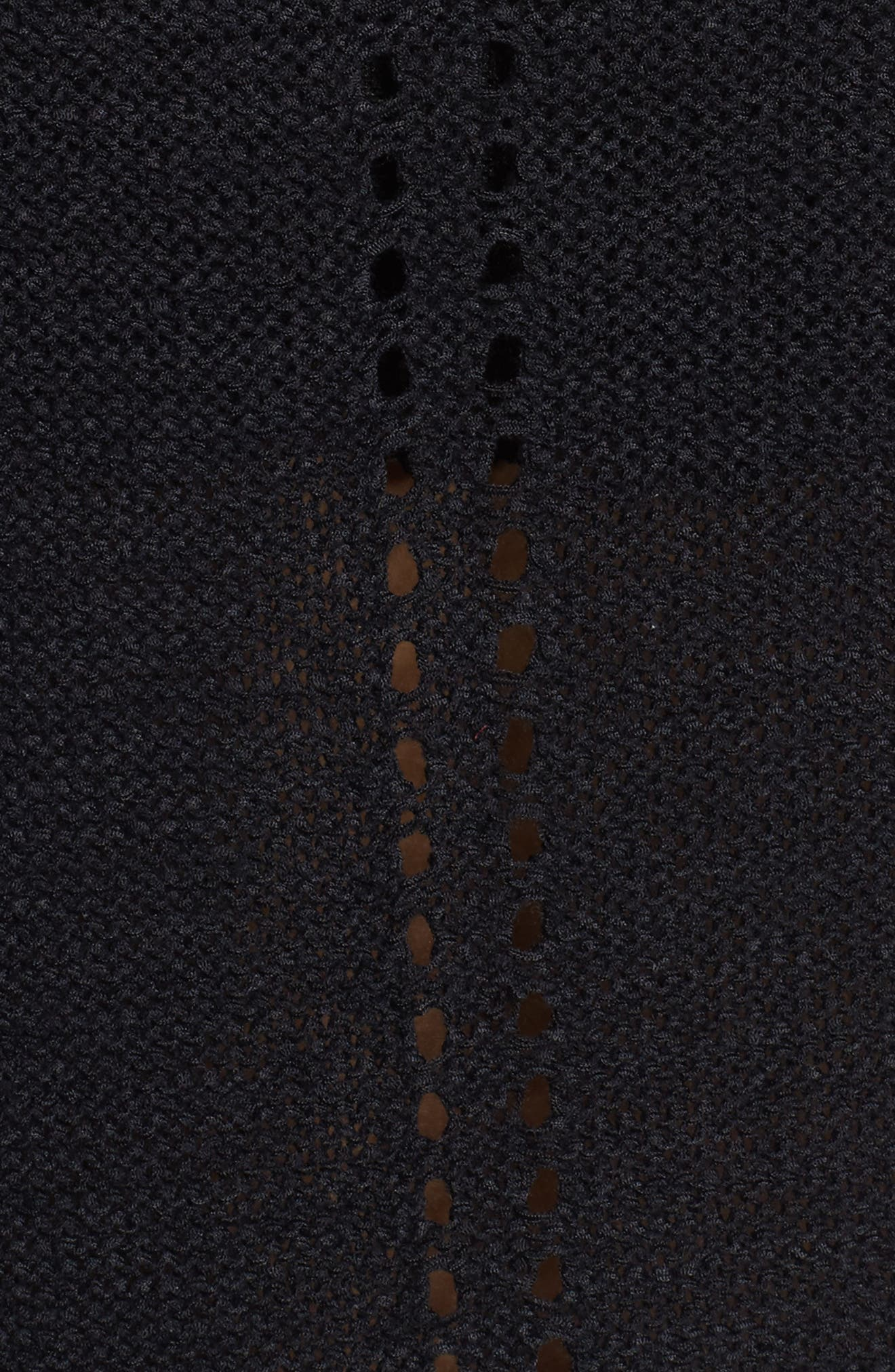 Mixed Stitch Pullover Sweater,                             Alternate thumbnail 5, color,                             001