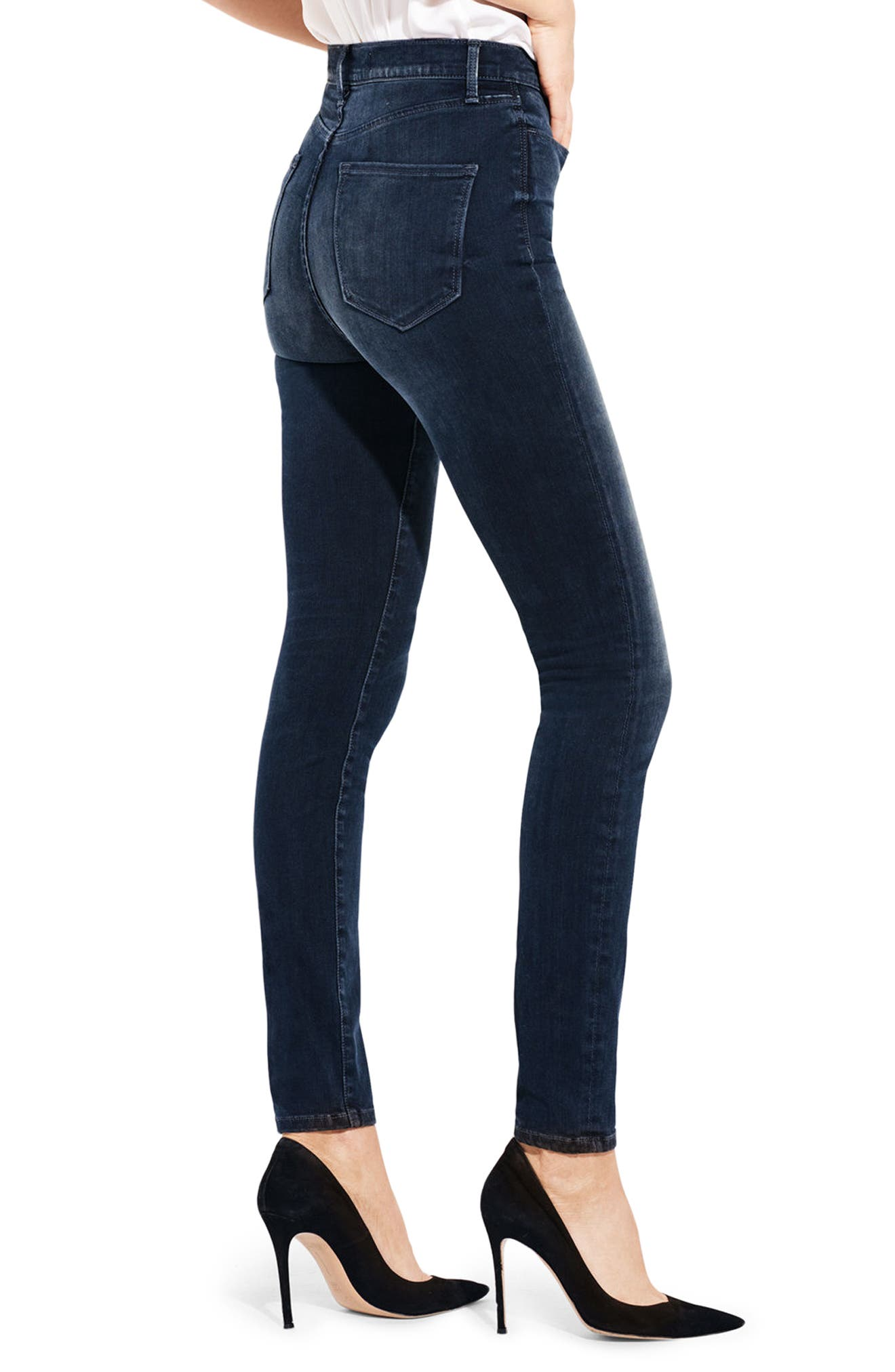 The Hi Rise High Waist Skinny Jeans,                             Alternate thumbnail 3, color,                             409