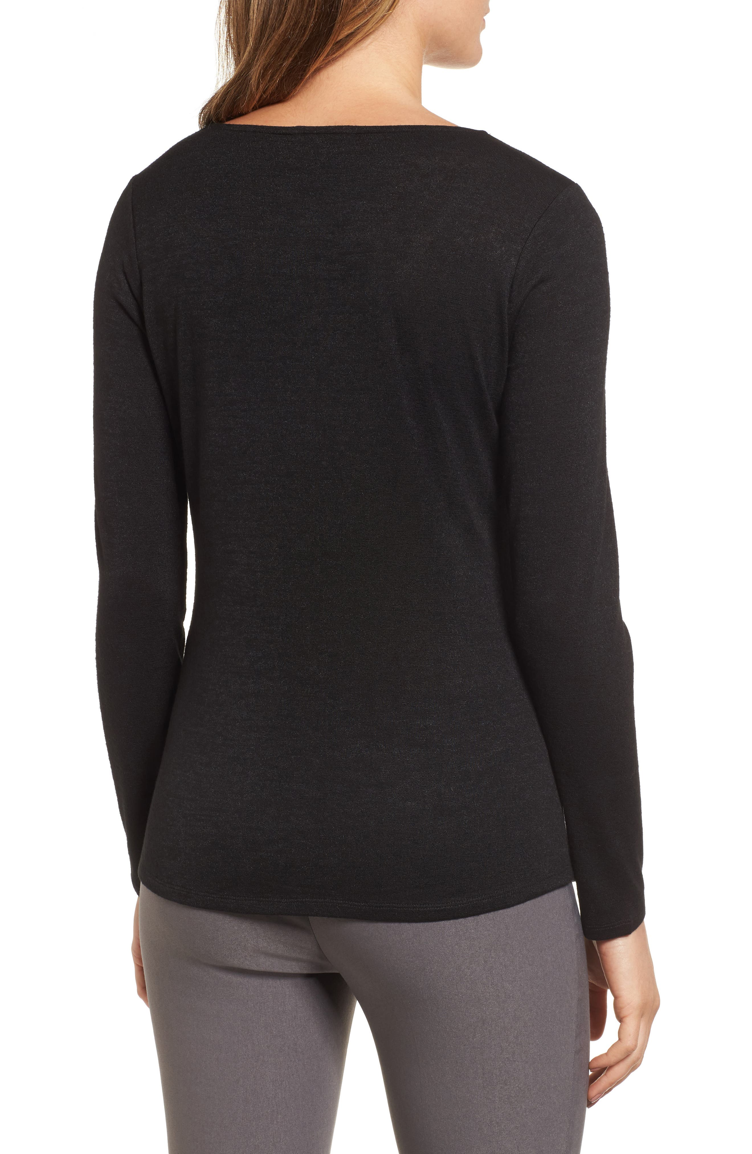 Every Occasion Drape Top,                             Alternate thumbnail 2, color,                             004
