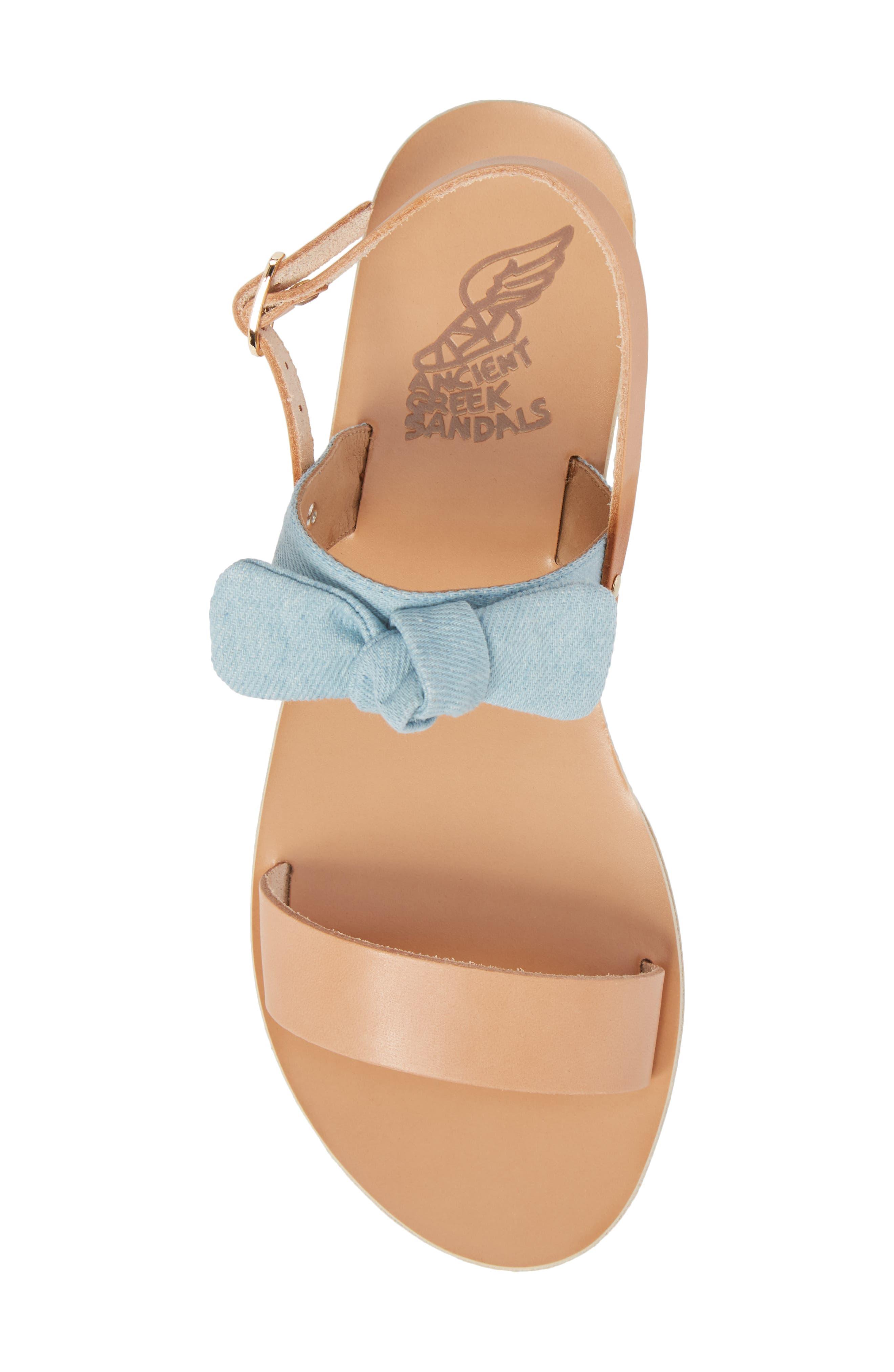 Clio Bow Sandal,                             Alternate thumbnail 5, color,                             400