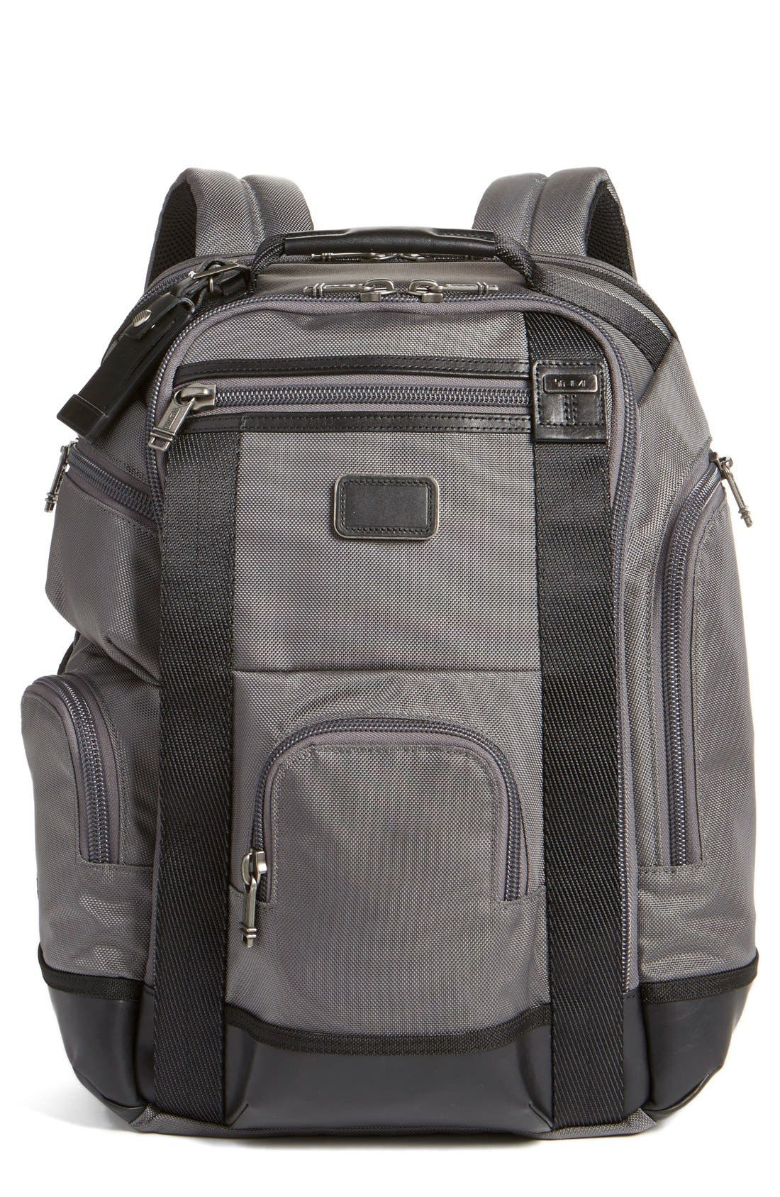 Alpha Bravo Shaw Deluxe Backpack,                             Main thumbnail 3, color,