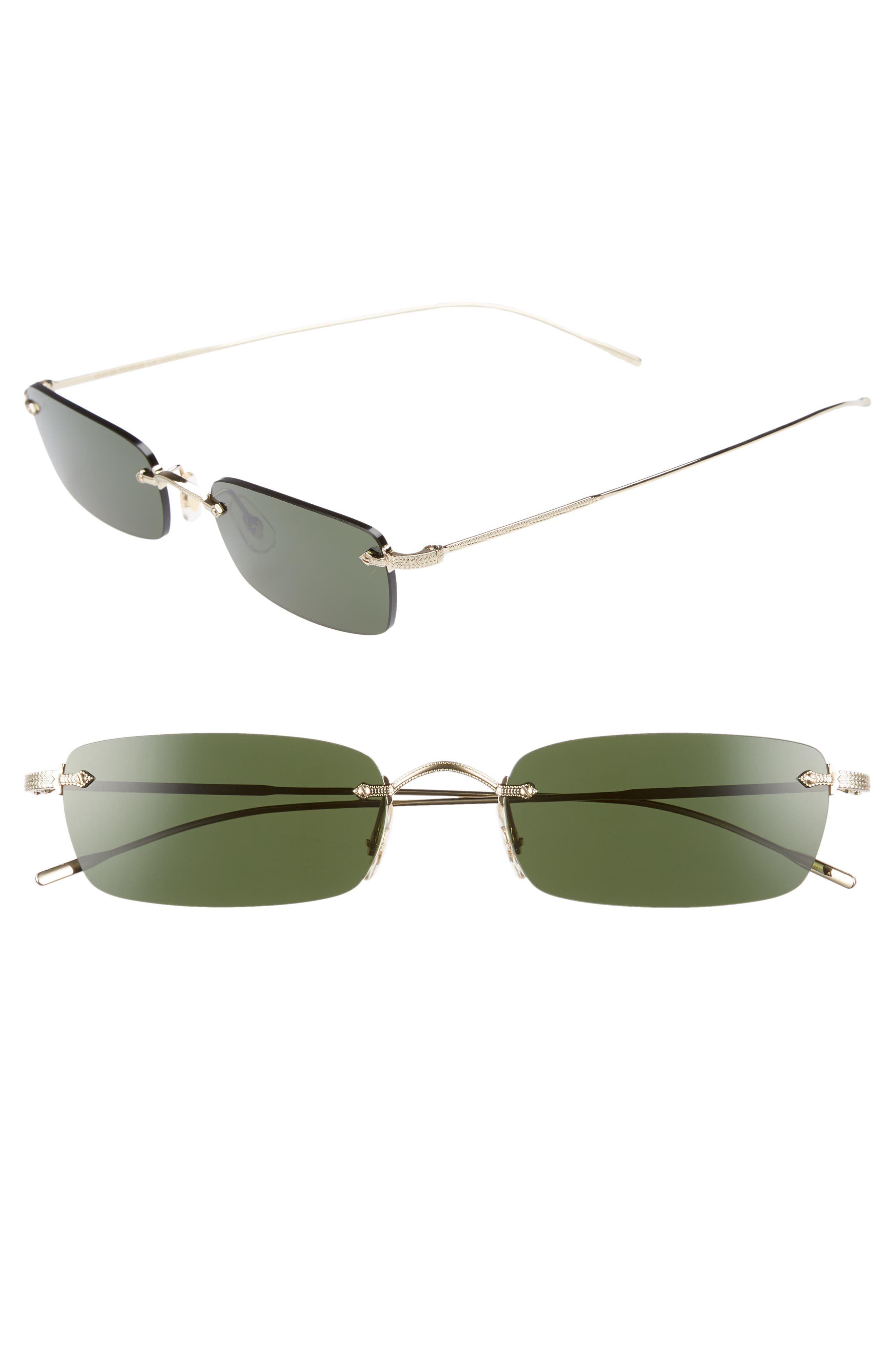 Daveigh 54mm Sunglasses,                         Main,                         color, GREEN