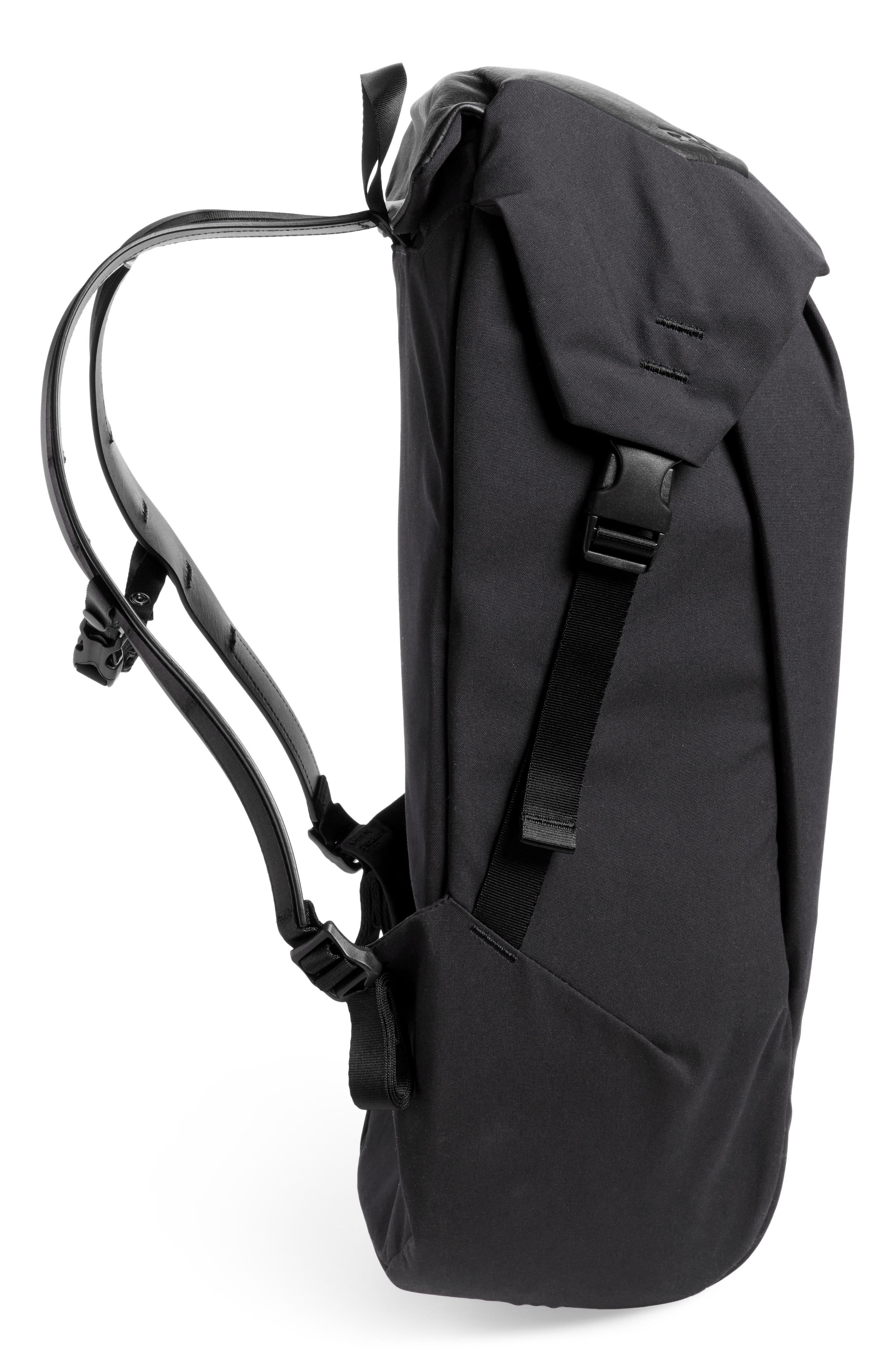 Locker Pack Lux Backpack,                             Alternate thumbnail 5, color,                             001