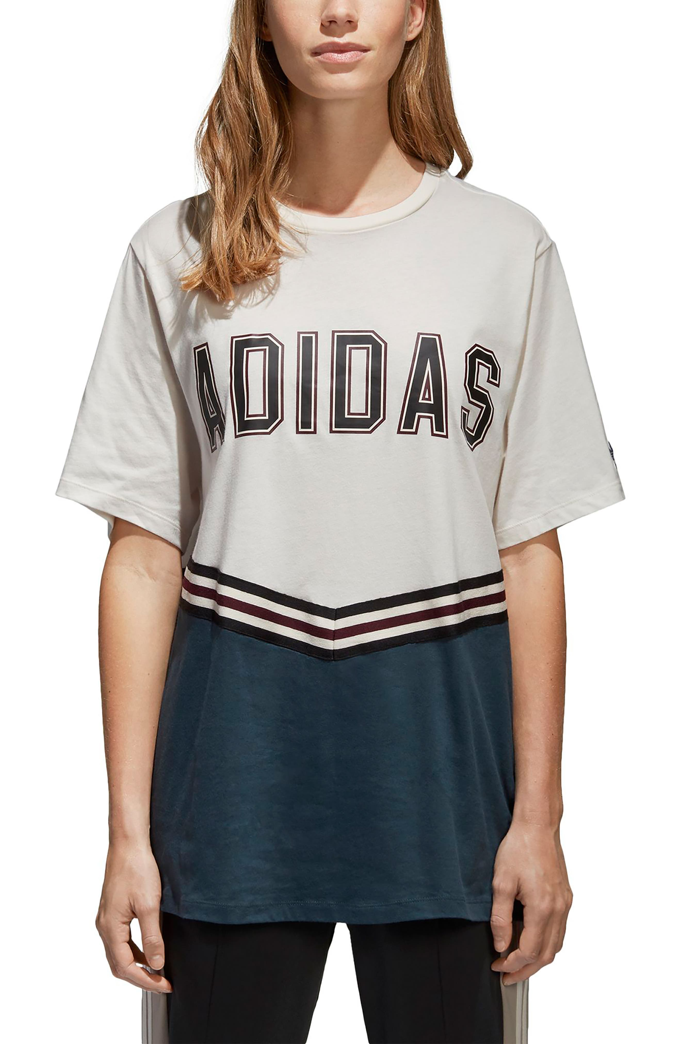 Adibreak Tee,                         Main,                         color, 100