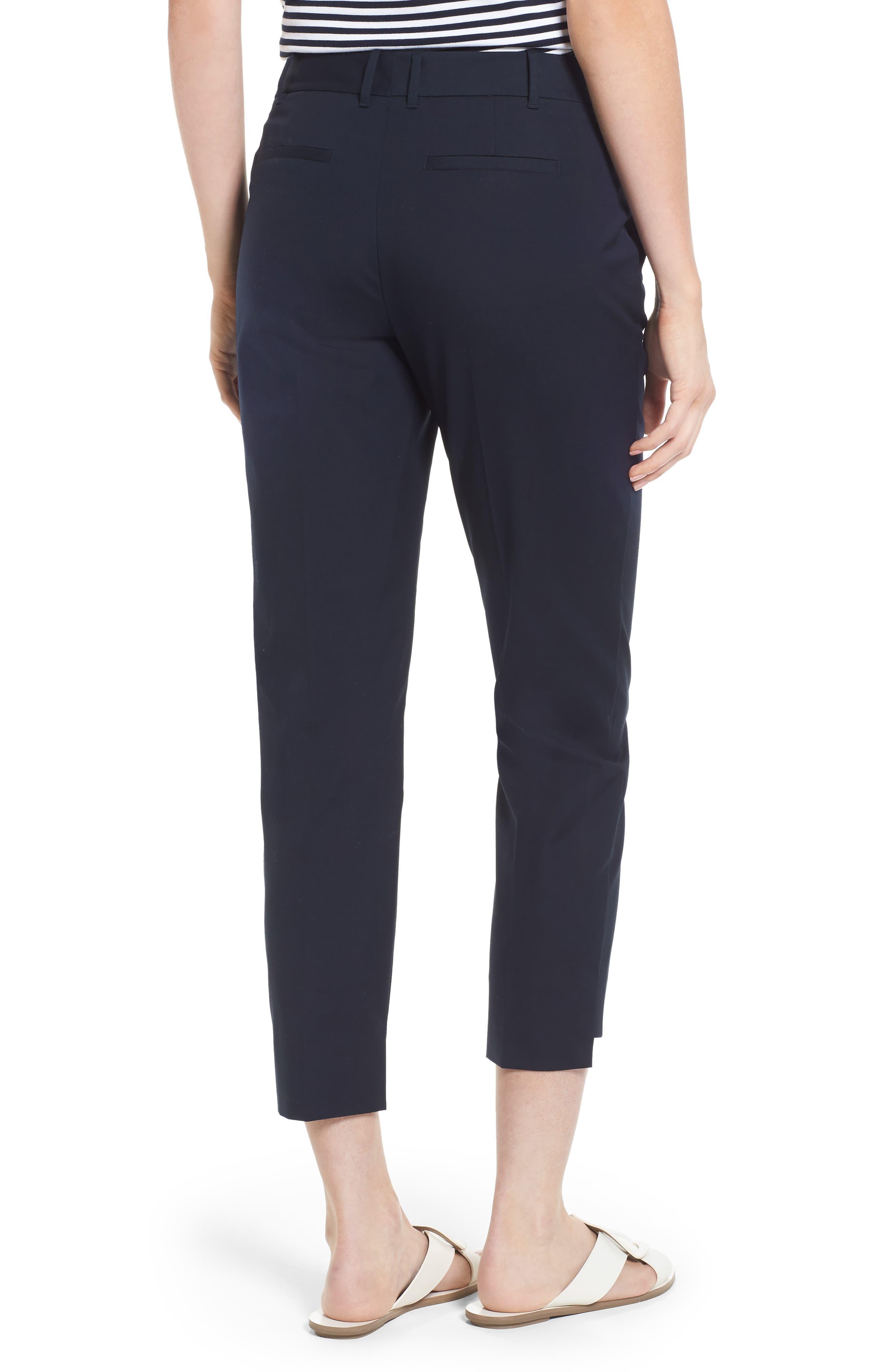 High/Low Crop Pants,                             Alternate thumbnail 4, color,