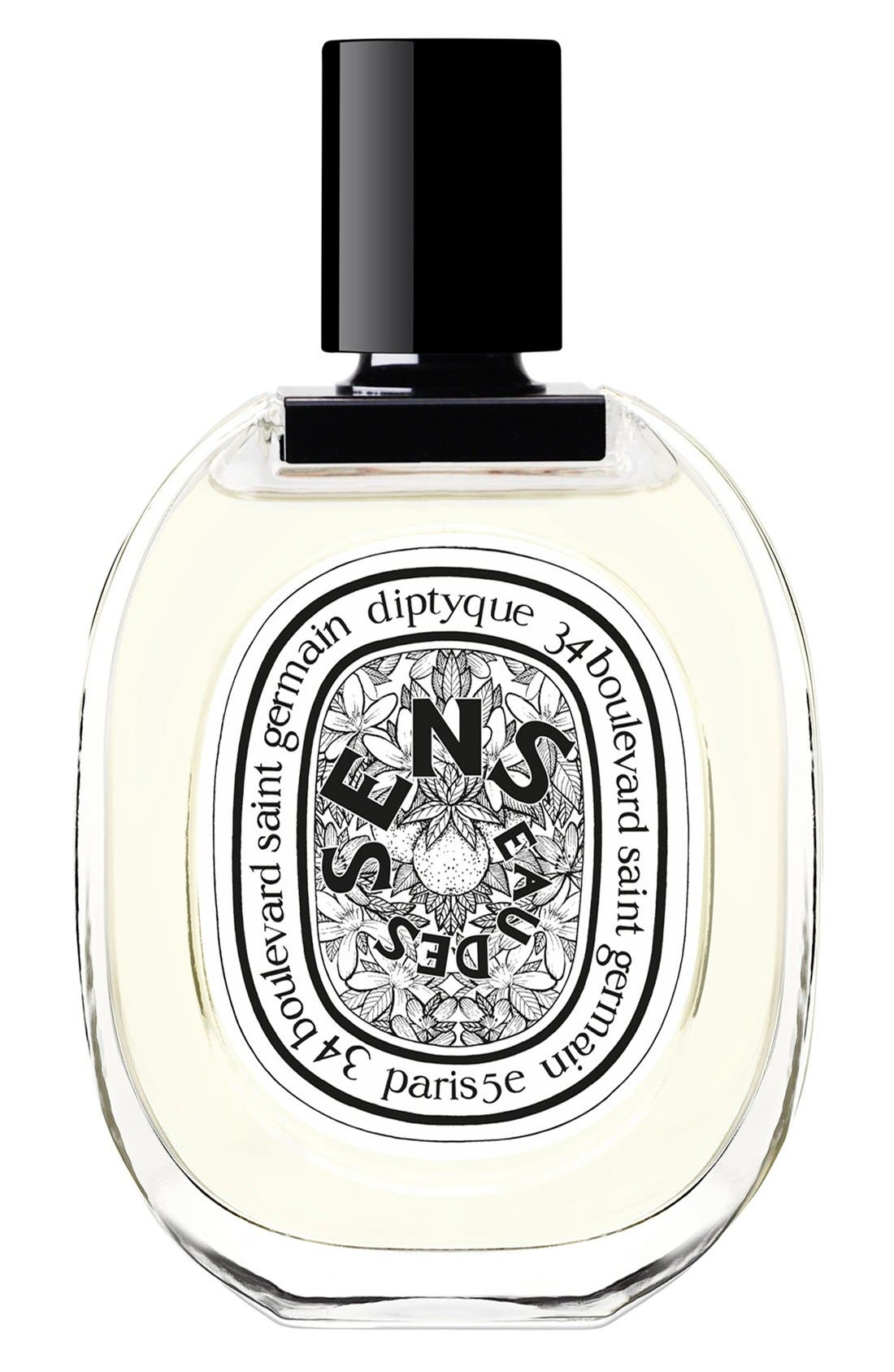 Eau des Sens Eau de Toilette,                             Main thumbnail 1, color,                             NO COLOR