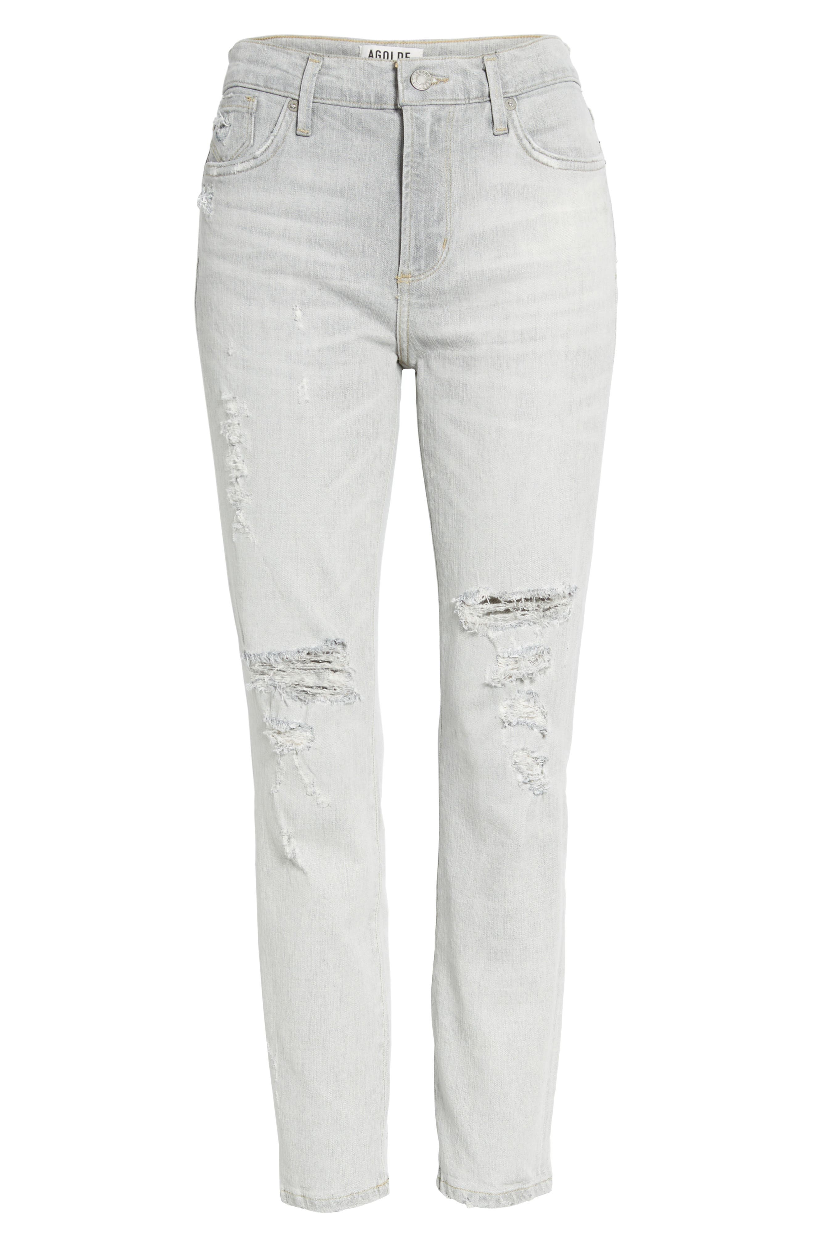 Sophie High Waist Skinny Jeans,                             Alternate thumbnail 7, color,                             059