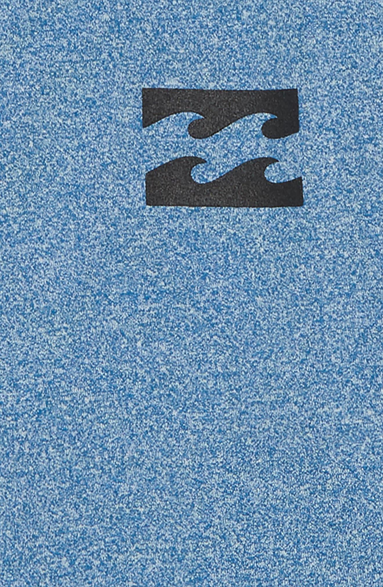 Unity Wave Long Sleeve Rashguard,                             Alternate thumbnail 2, color,                             ROYAL HEATHER