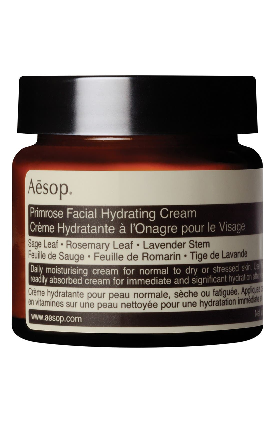 Primrose Facial Hydrating Cream,                             Main thumbnail 1, color,                             NONE