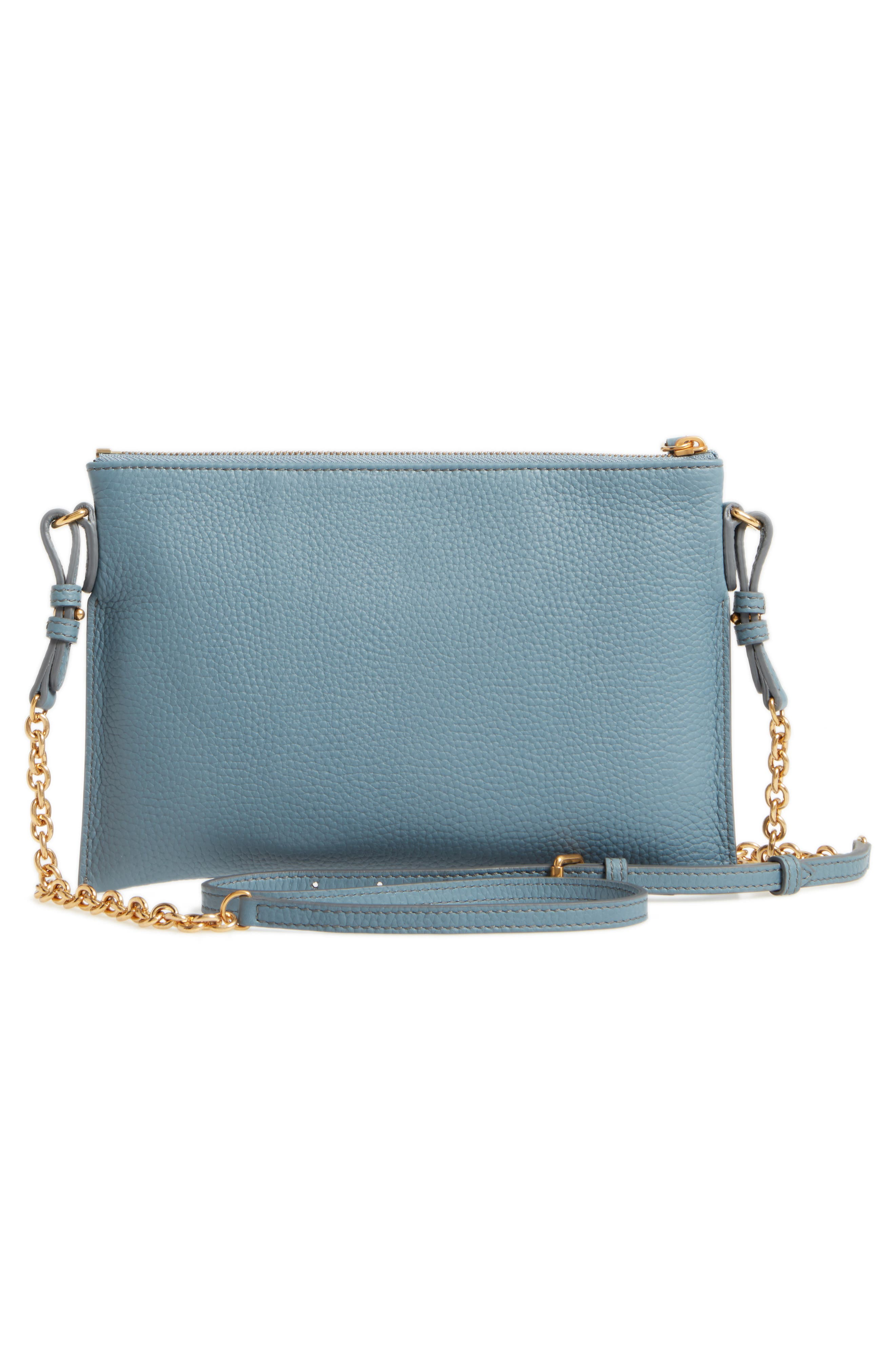 Peyton Leather Crossbody Bag,                             Alternate thumbnail 3, color,
