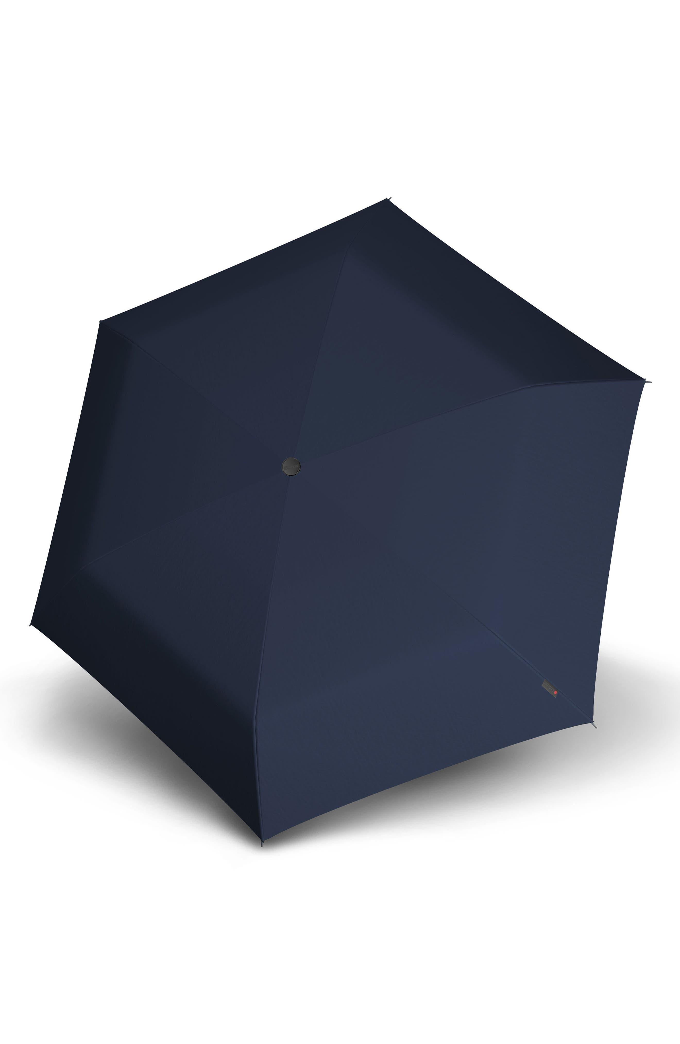 KNIRPS,                             TS010 Slim Manual Open/Close Umbrella,                             Alternate thumbnail 2, color,                             NAVY