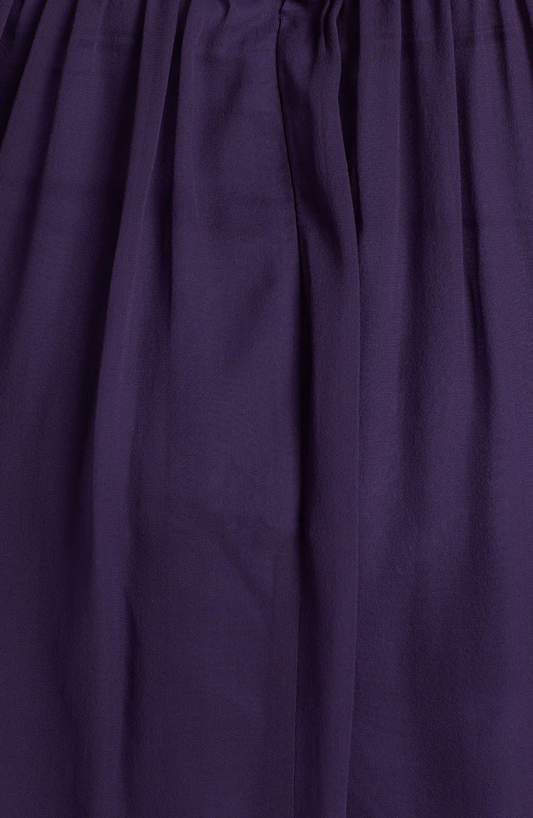 'Morgan' Strapless Silk Chiffon Dress,                             Alternate thumbnail 115, color,