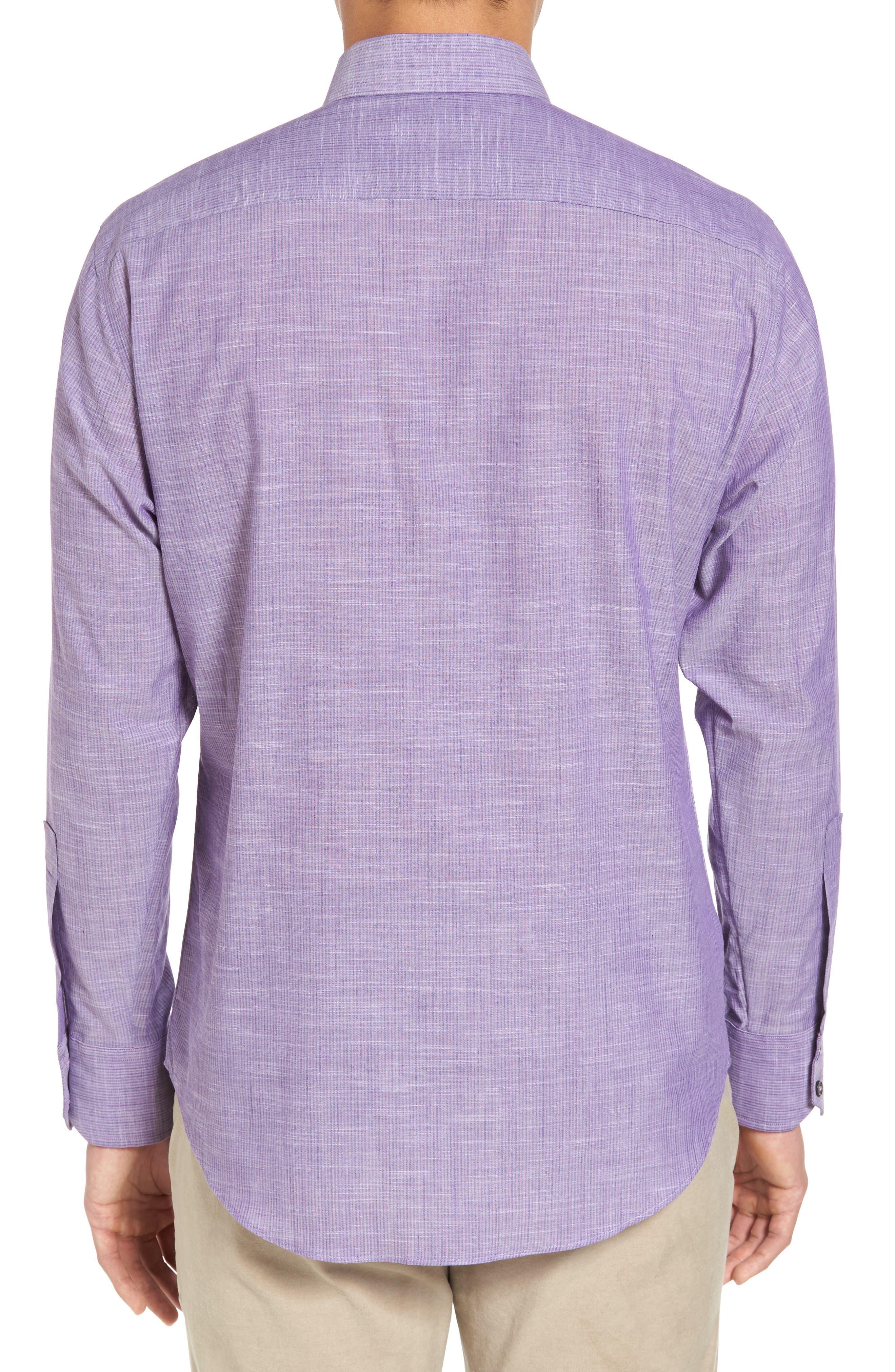 Snower Slim Fit Sport Shirt,                             Alternate thumbnail 2, color,                             500