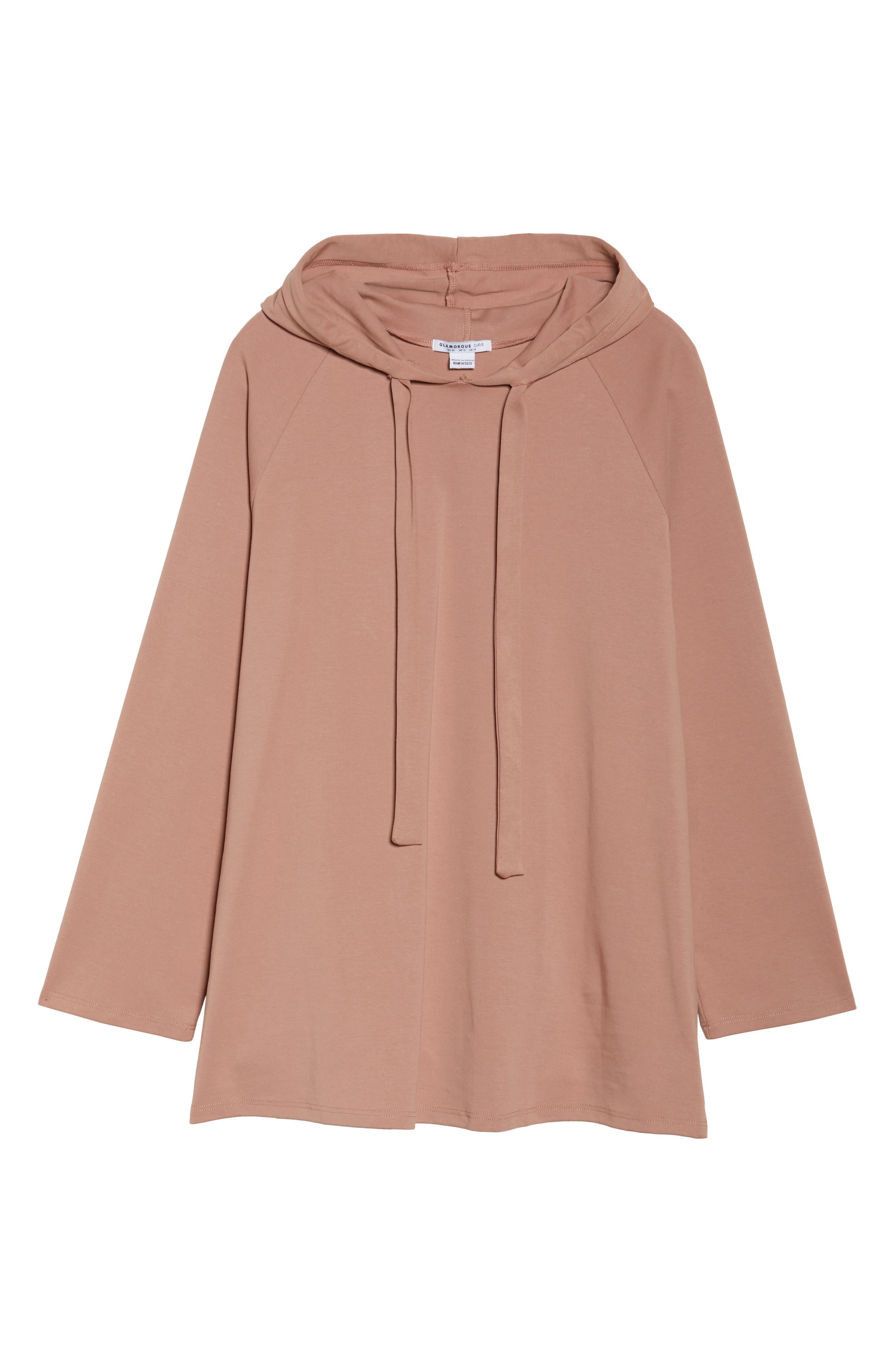 Hoodie Tunic,                             Alternate thumbnail 6, color,                             660