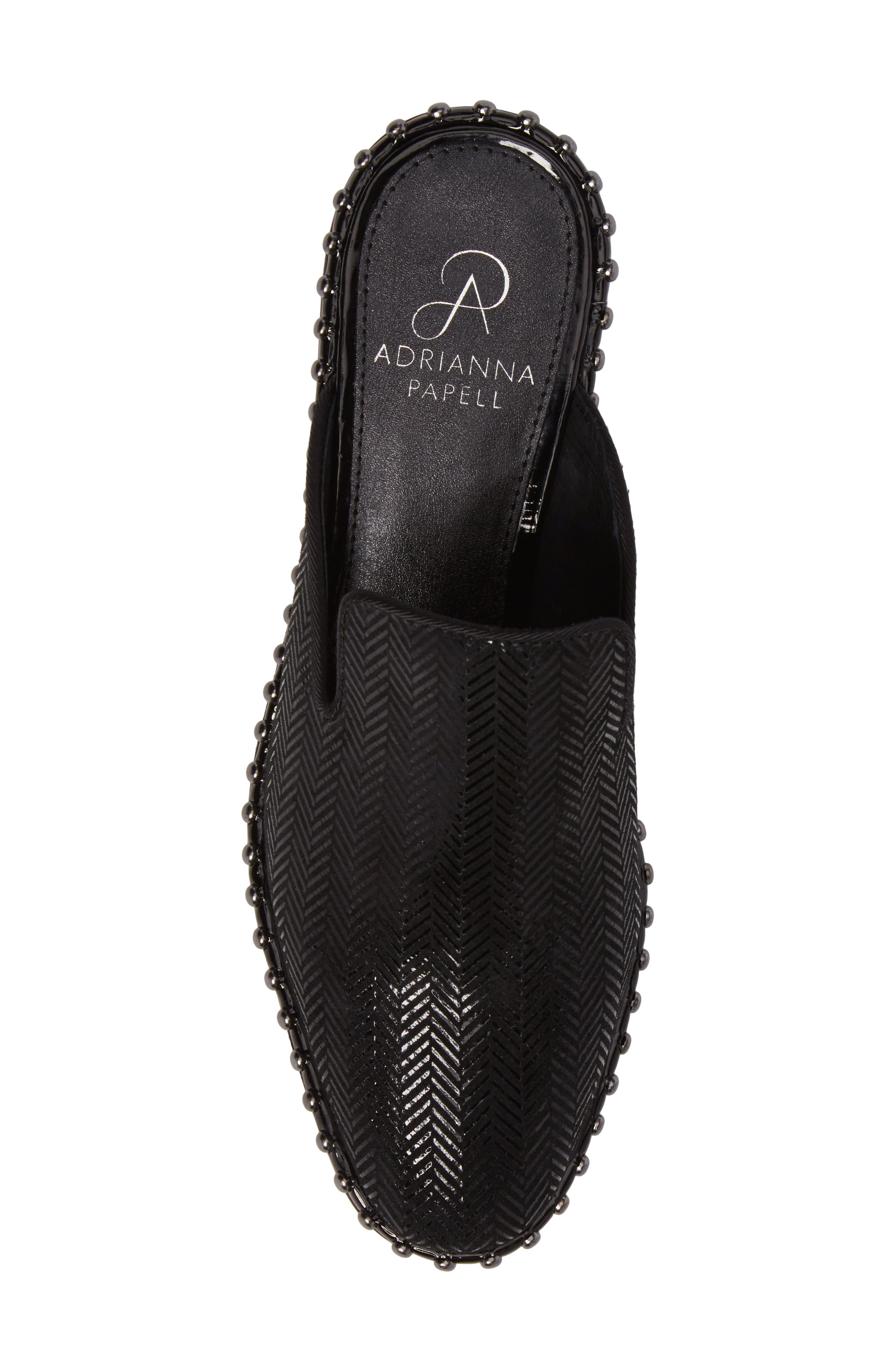'Pam' Studded Mule,                             Alternate thumbnail 5, color,                             011