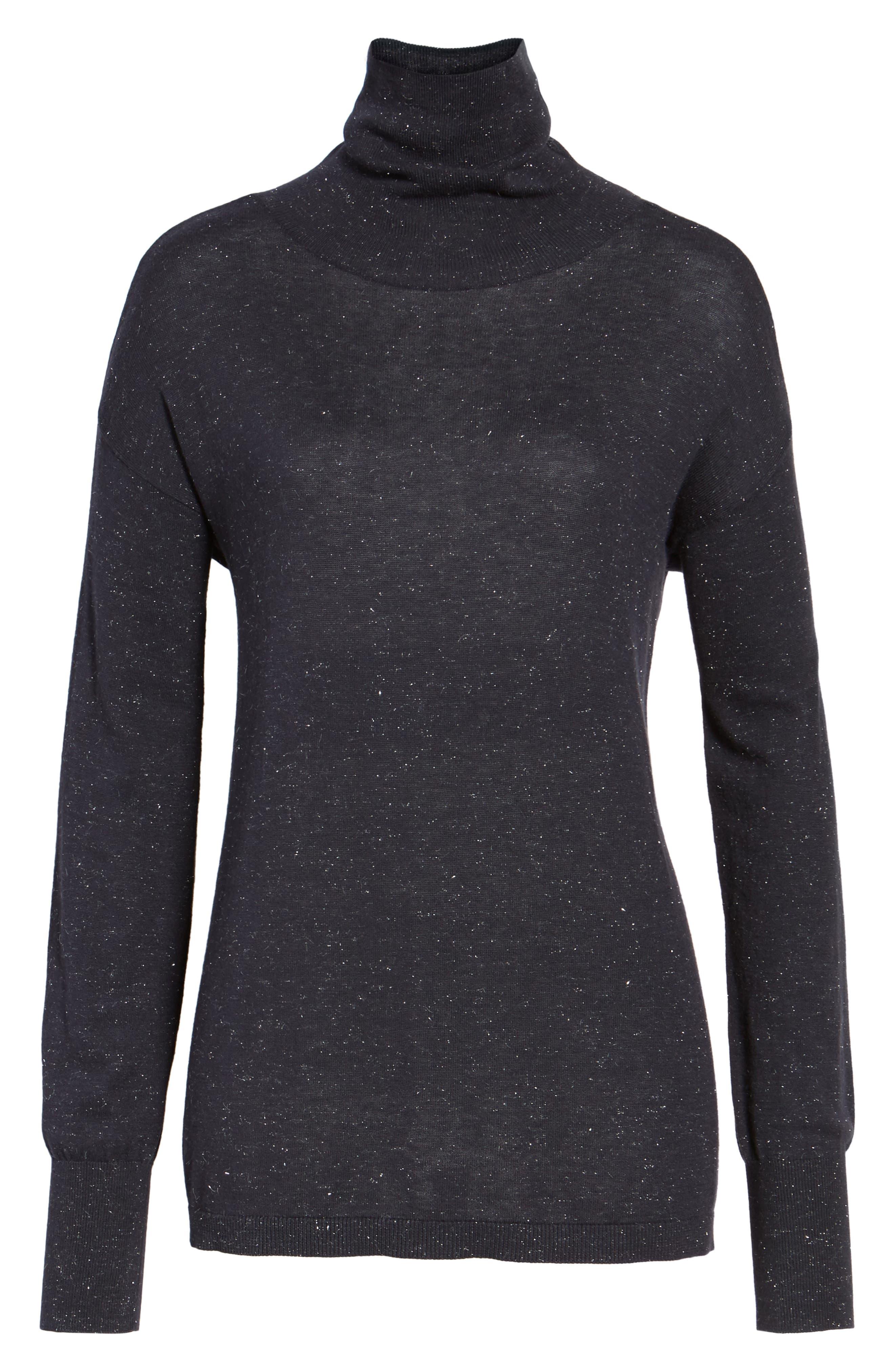 Open Back Sweater,                             Alternate thumbnail 6, color,                             410