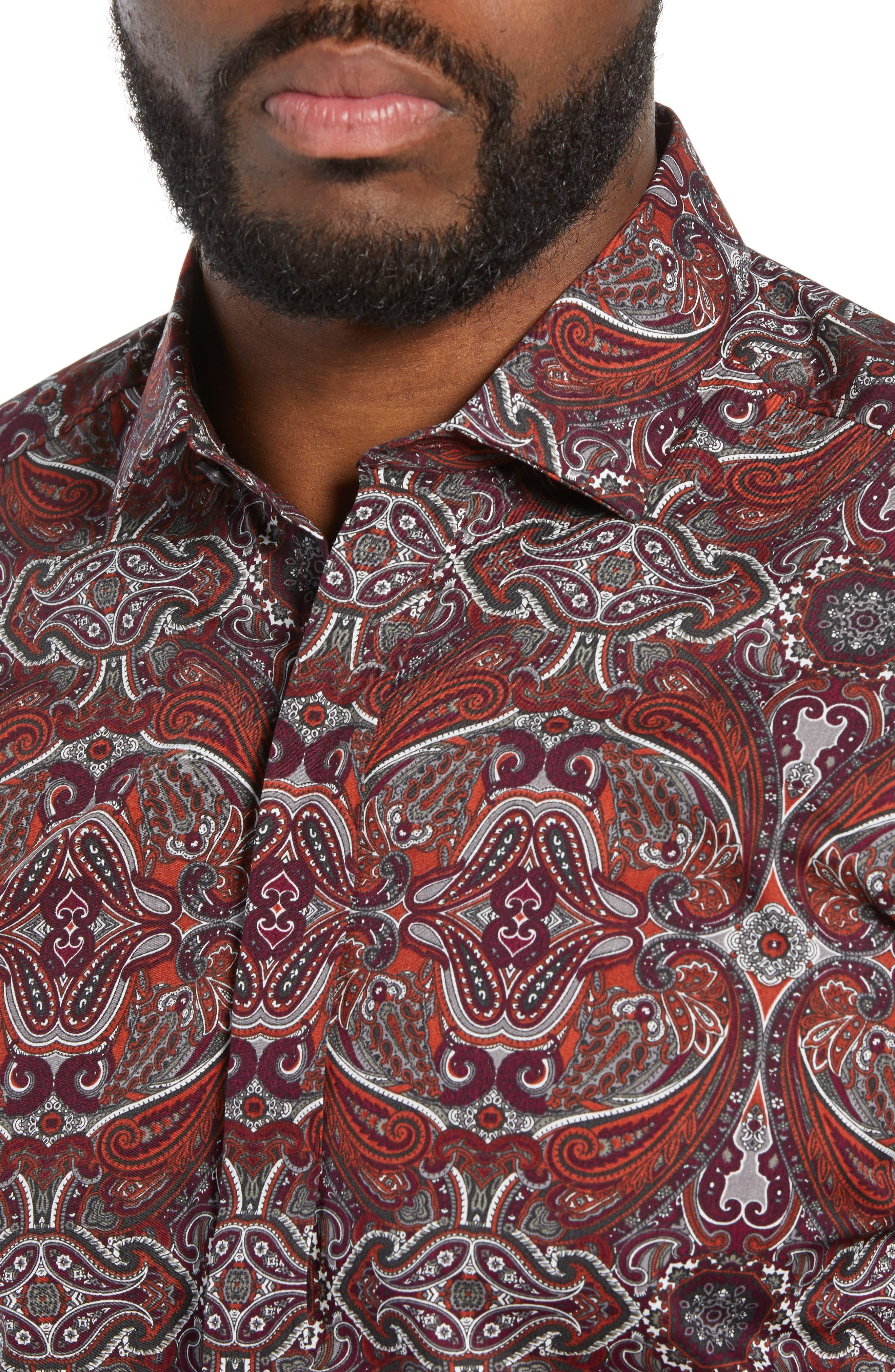 Regular Fit Dot Sport Shirt,                             Alternate thumbnail 2, color,                             600