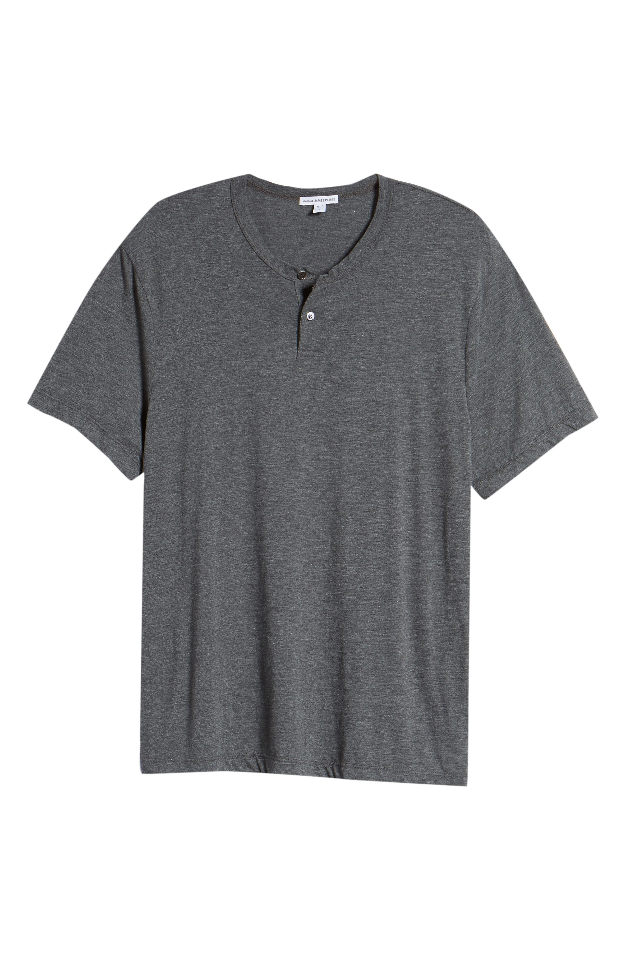 Cotton Blend Short Sleeve Henley,                             Alternate thumbnail 6, color,                             020