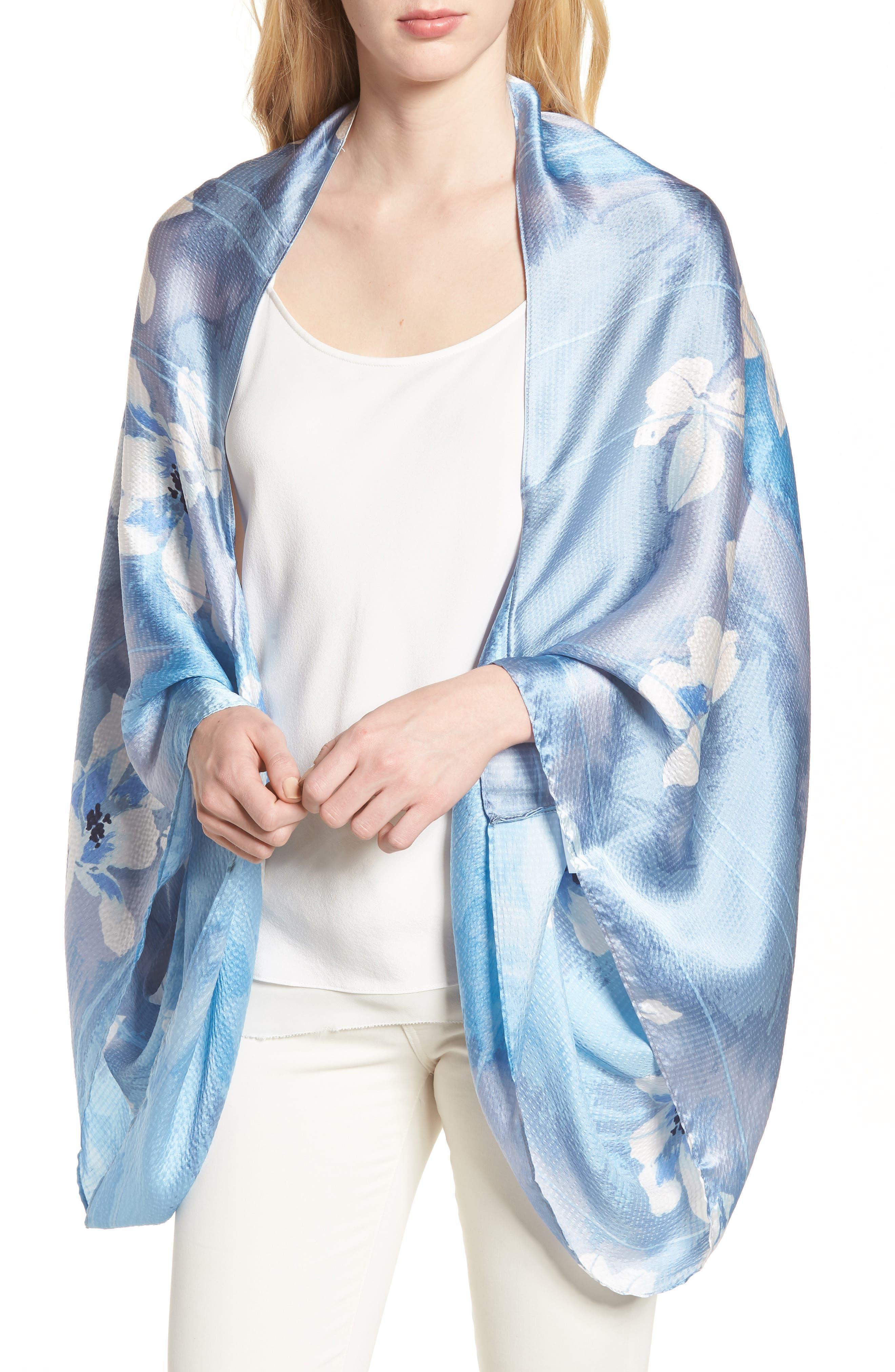 Silk Shrug Kimono,                             Main thumbnail 1, color,                             420