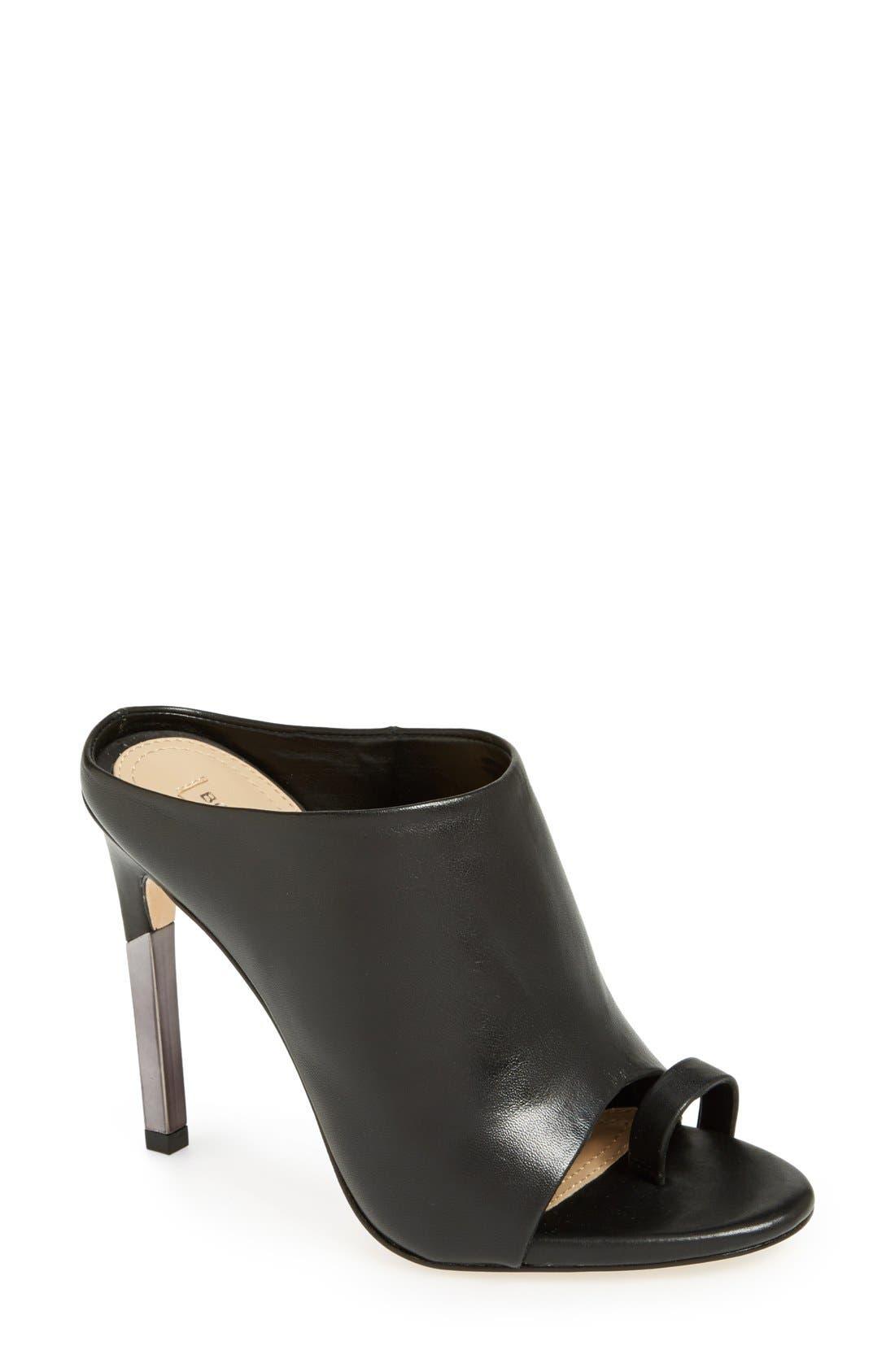 'Dag' Leather Sandal,                         Main,                         color, 001