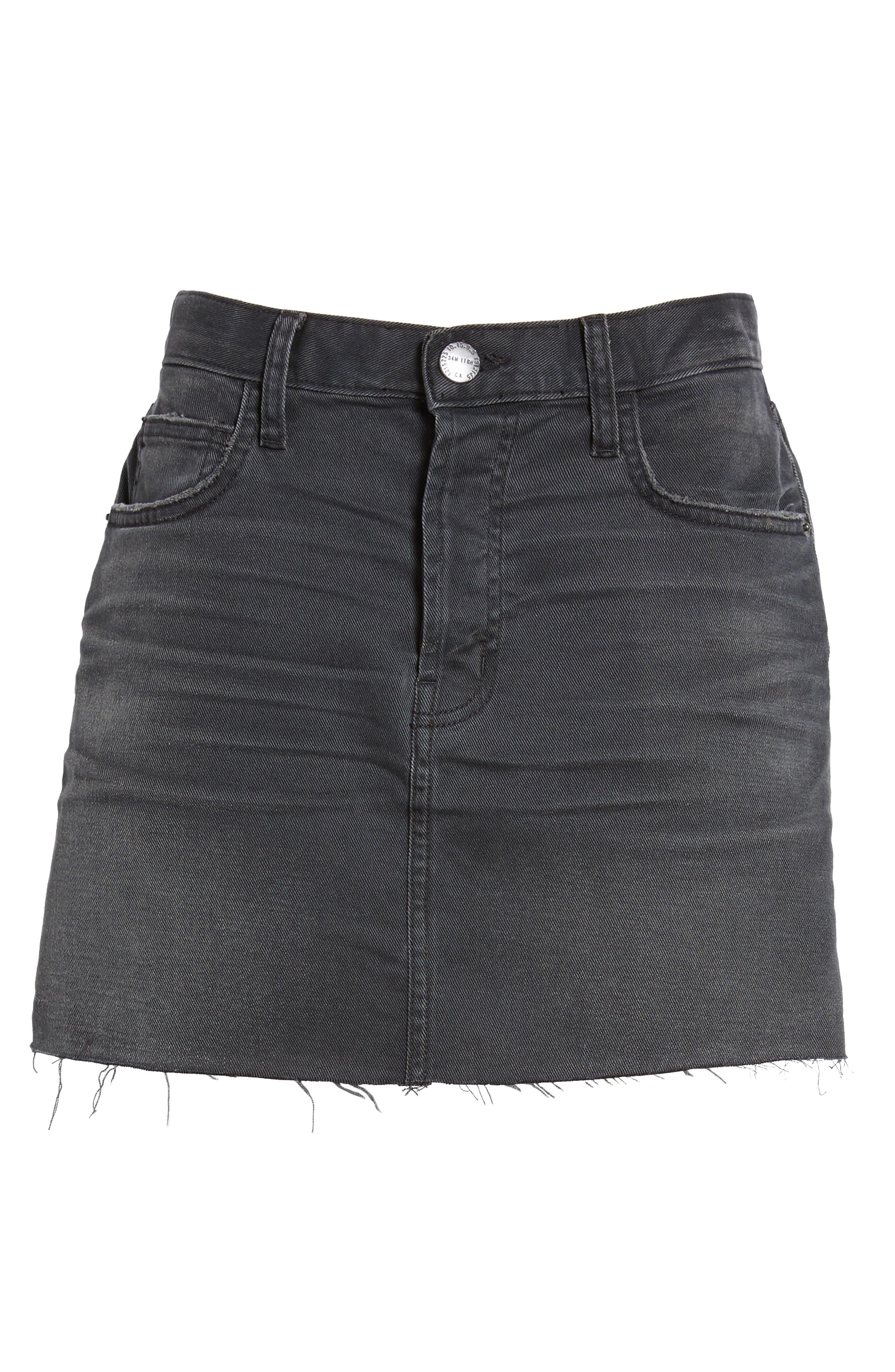 The Kick High Waist Crop Flare Jeans,                             Alternate thumbnail 6, color,                             017